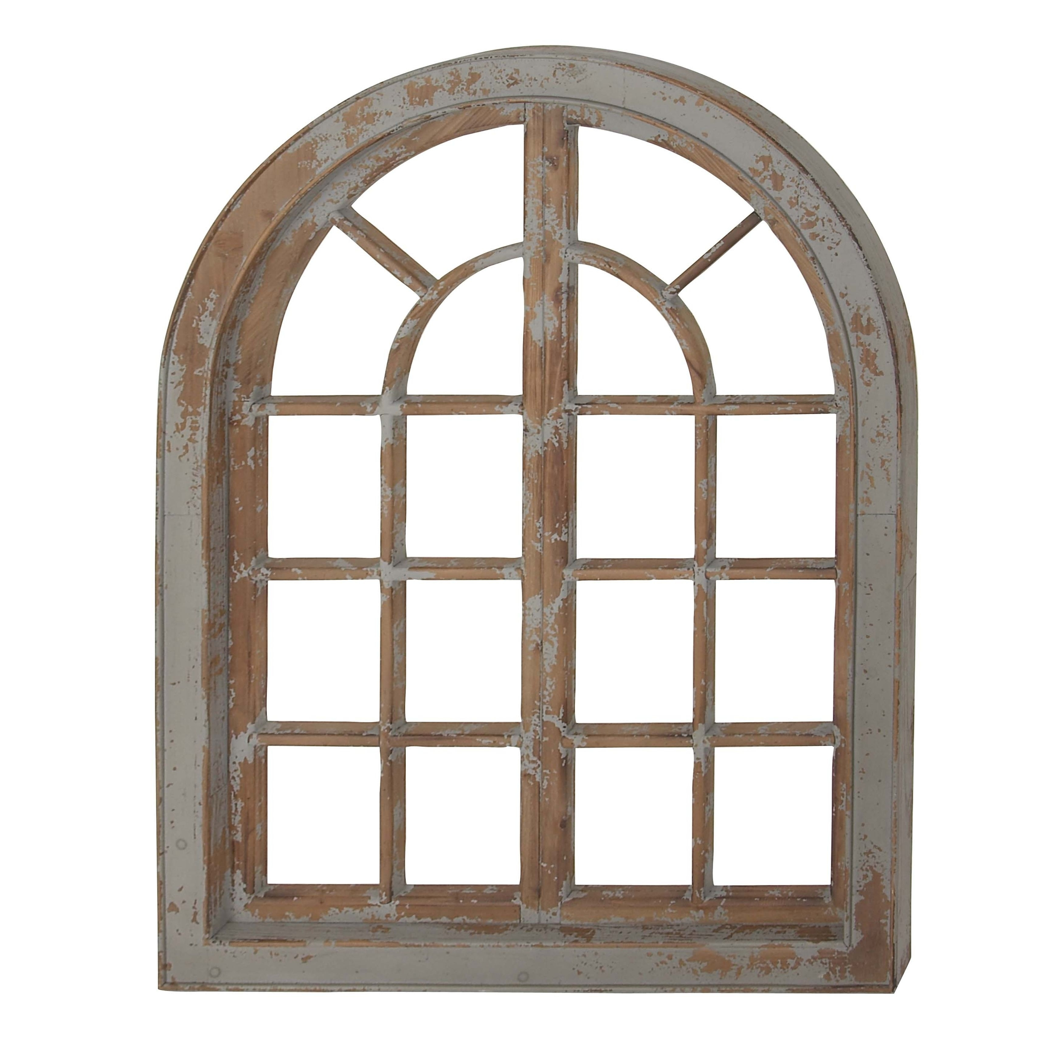 Traditional Arched Wooden Wall Decor Free Shipping Today 19563472