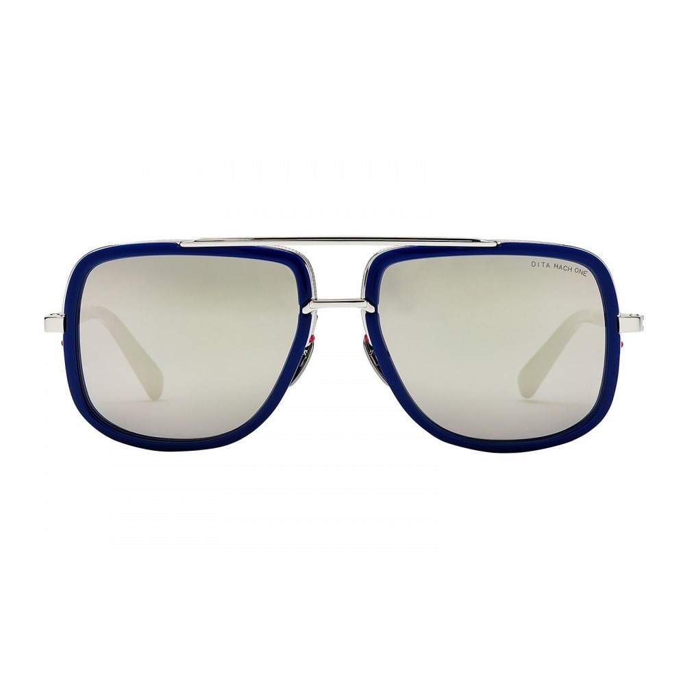 750ea1a625 Shop Dita Mach One DRX-2030J Titanium Blue Frame Silver Flash Lens  Sunglasses - Free Shipping Today - Overstock - 19563620