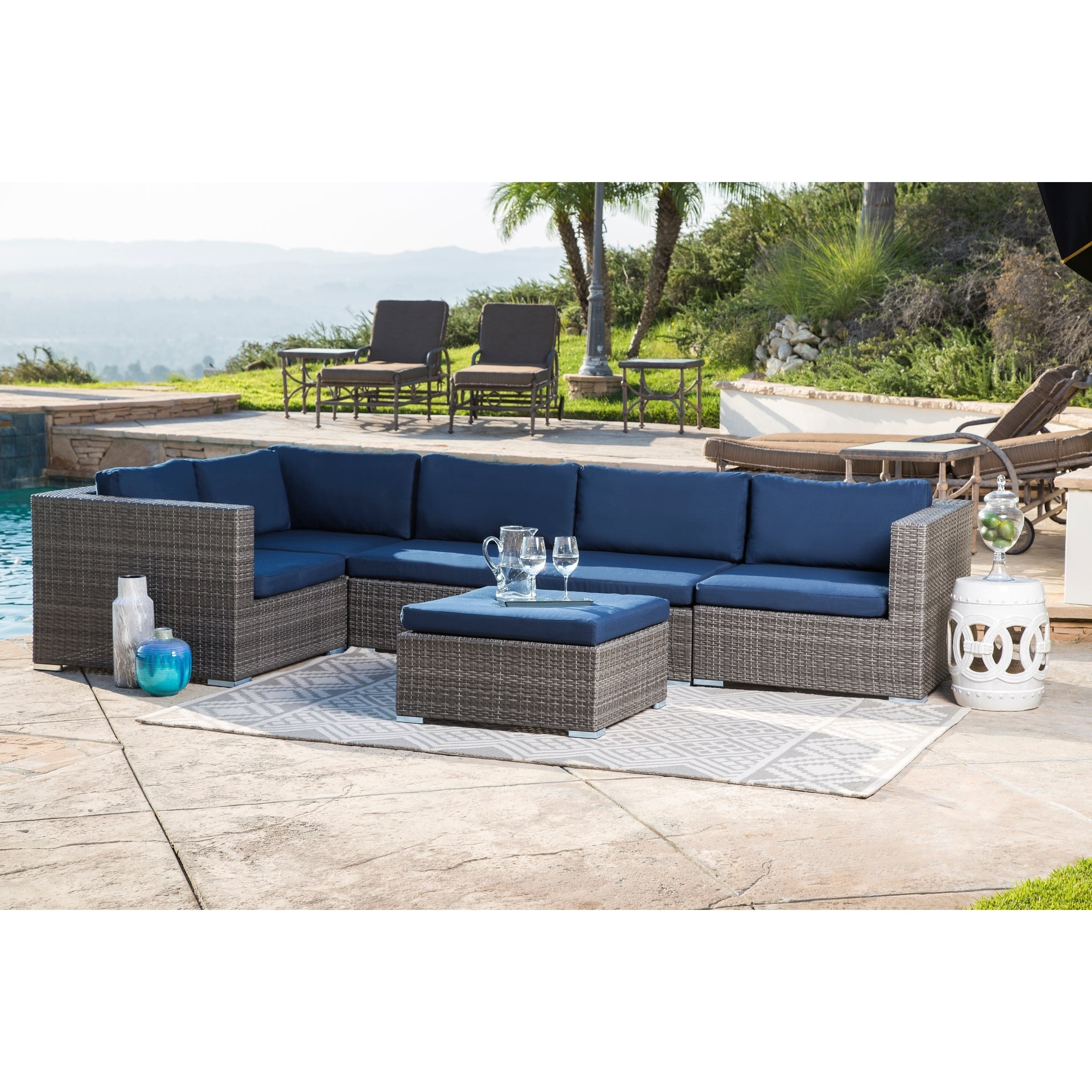mesh bistro pin piece essentials room lasalle set patio df furniture