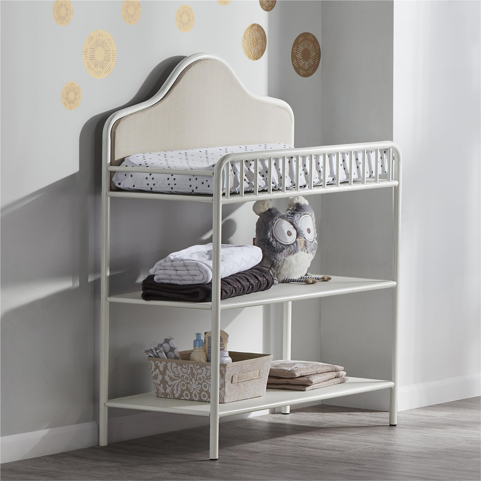 Shop Little Seeds Piper Metal Changing Table   Free Shipping Today    Overstock.com   19569647