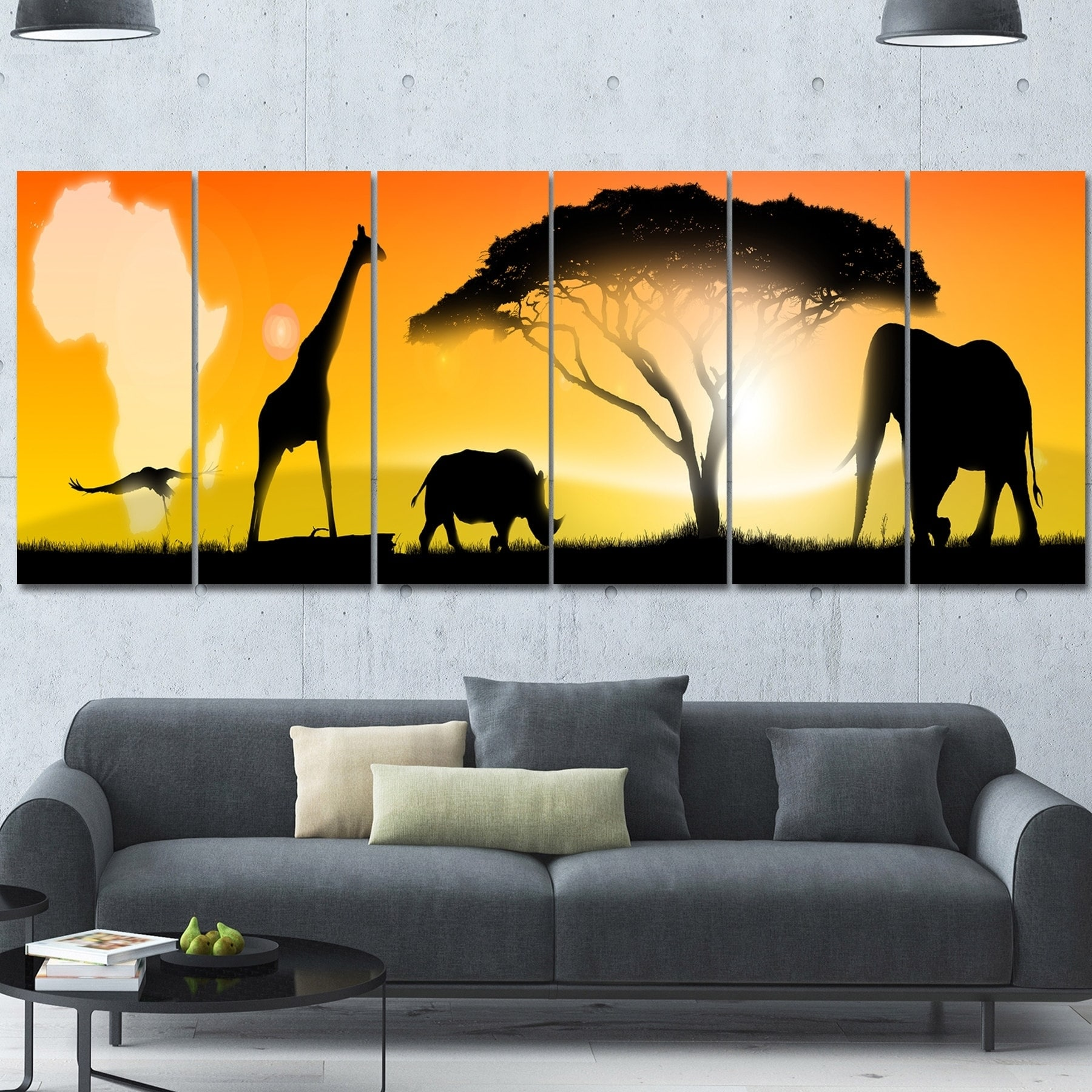 Awesome African Wall Decor Images - The Wall Art Decorations ...