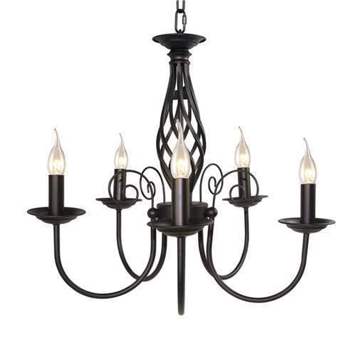 Shop LNC Small Antique Chandeliers 5-light Pendant Lighting - Free Shipping  Today - Overstock.com - 19575049 - Shop LNC Small Antique Chandeliers 5-light Pendant Lighting - Free