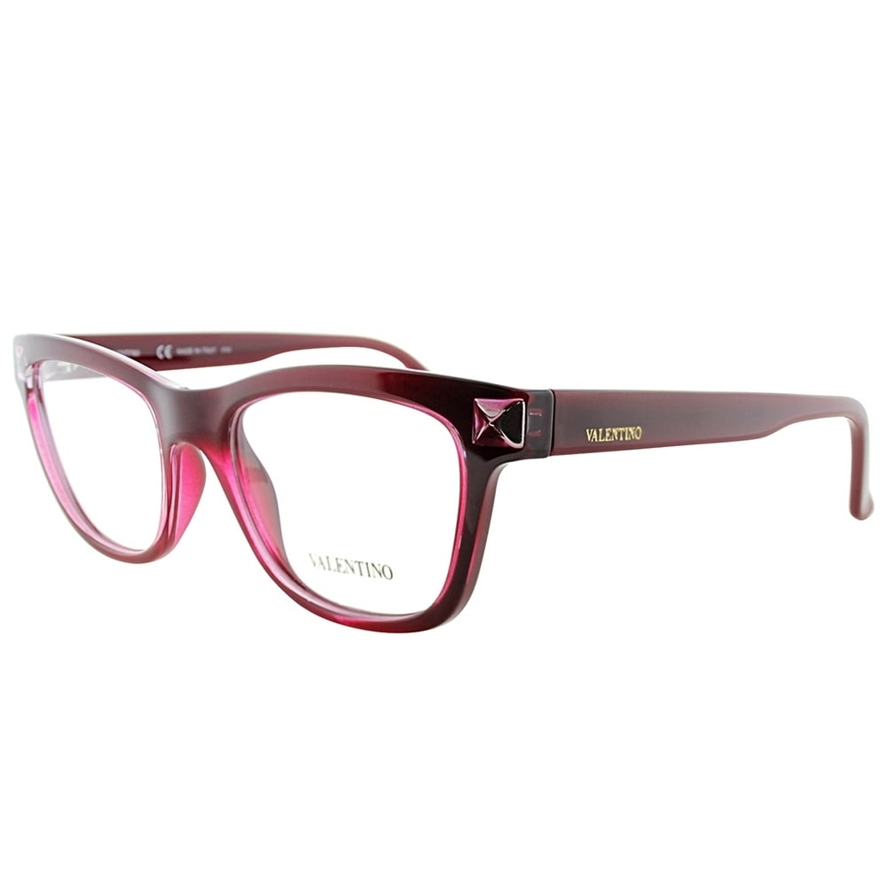 Shop Valentino Cat-Eye V2682 613 Women Red Frame Eyeglasses - Free ...
