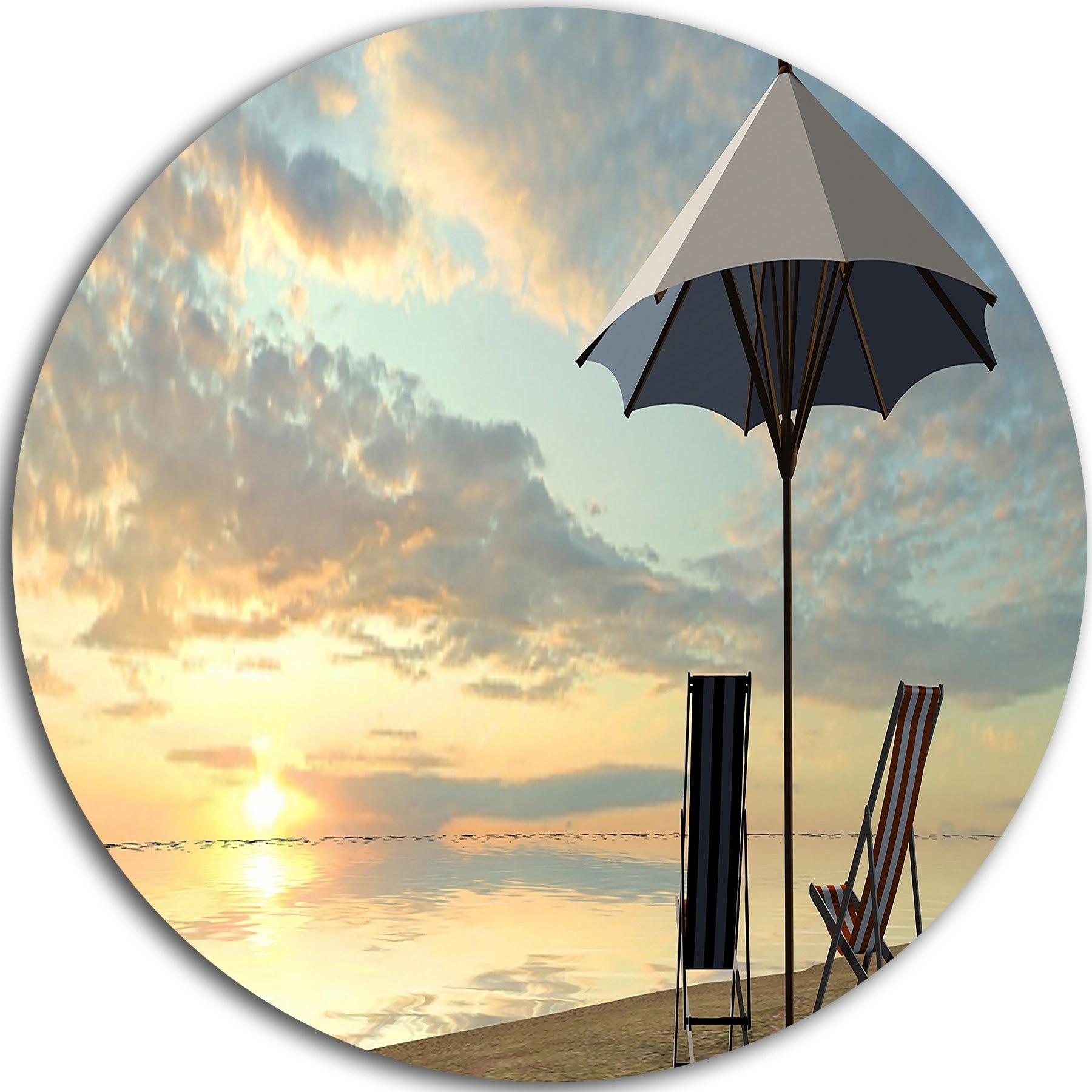 Beautiful Metal Beach Wall Art Adornment - Wall Painting Ideas ...