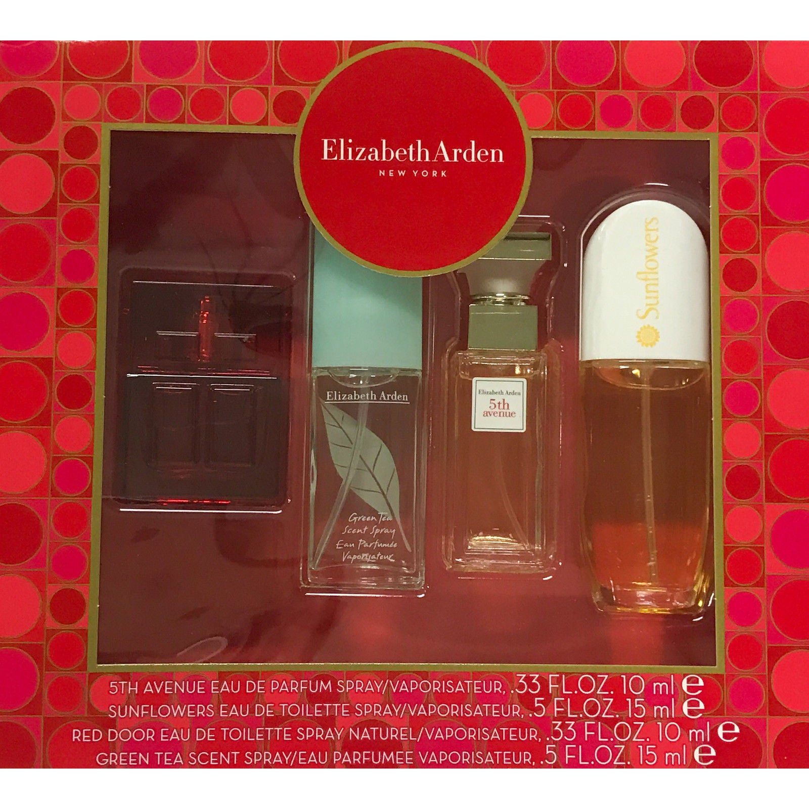 Shop Elizabeth Arden Womens 4 Piece Mini Gift Set Free Shipping