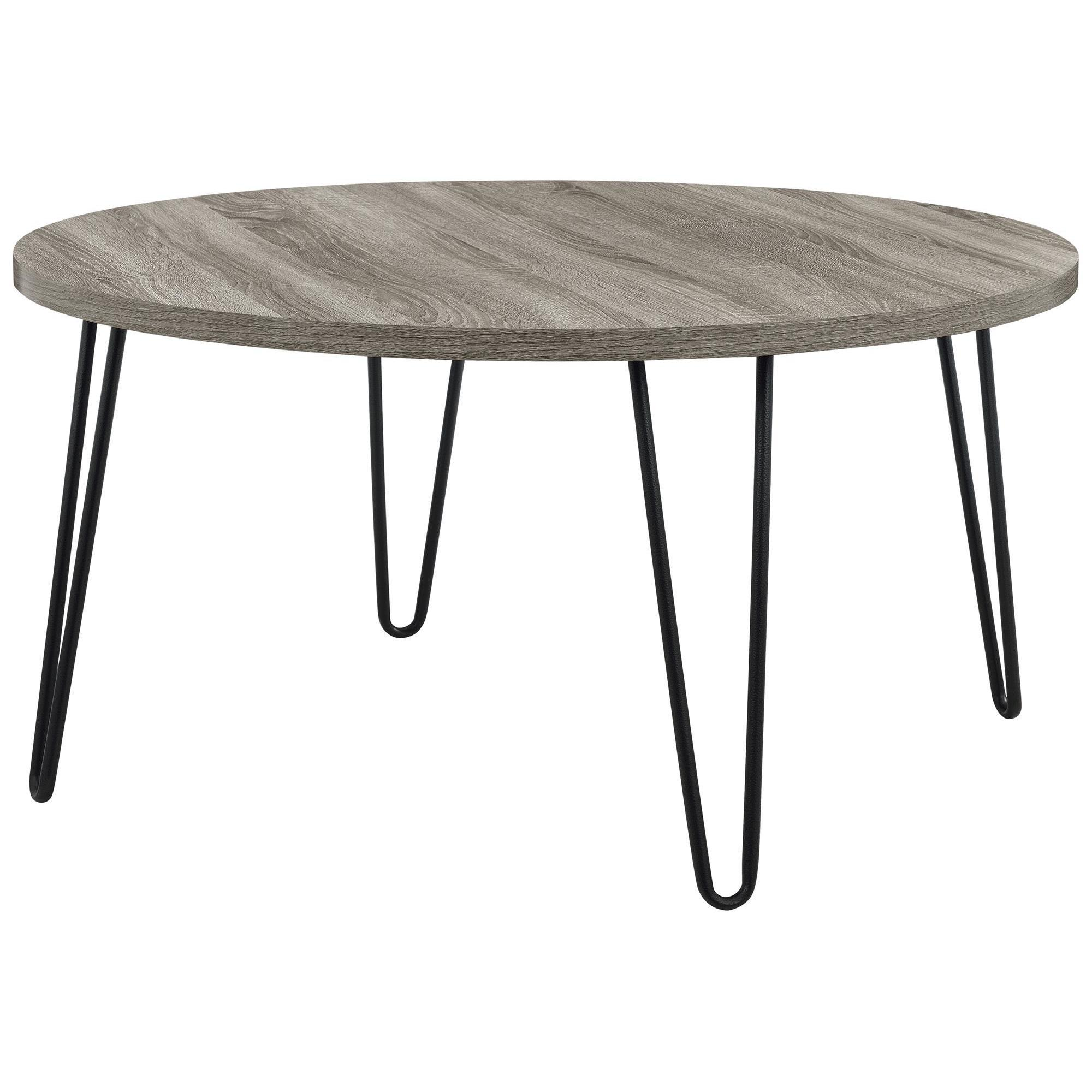 Avenue Greene Isaac Retro Round Coffee Table Free Shipping Today 19618476