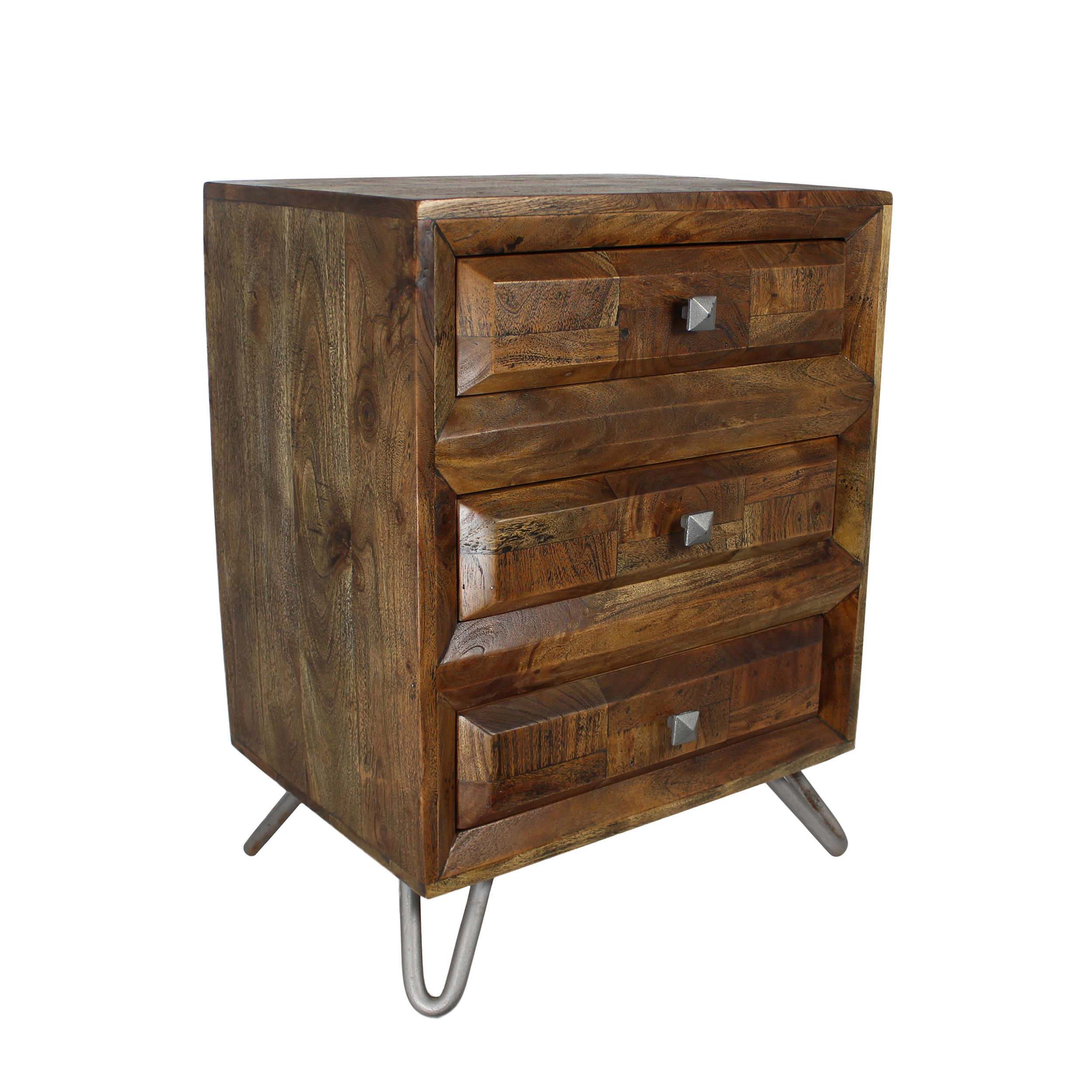 Urban Designs Solid Wood 3 Drawer Storage Chest Night Stand Free Shipping Today 25575247