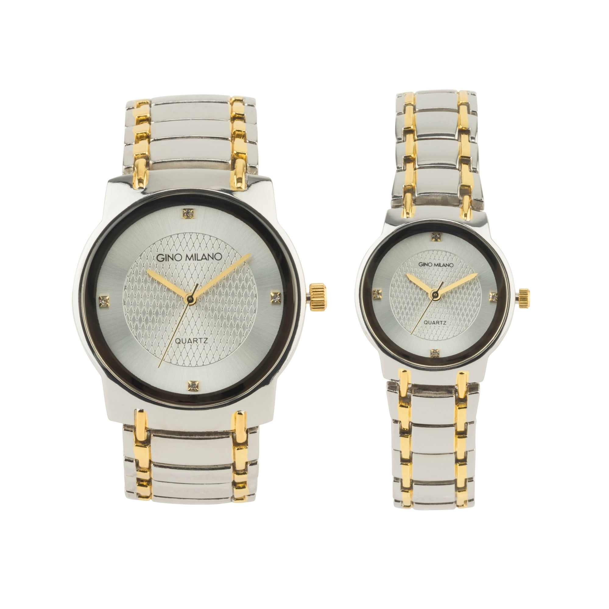 His And Hers Watch Sets >> Shop Gino Milano His Her Watch Gift Sets Free Shipping On Orders