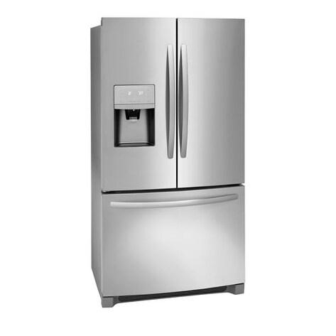 Shop Frigidaire 21.9 Cu. Ft. French Door Counter-Depth Refrigerator - Free  Shipping Today - Overstock.com - 19628490 1d2db9df0ced