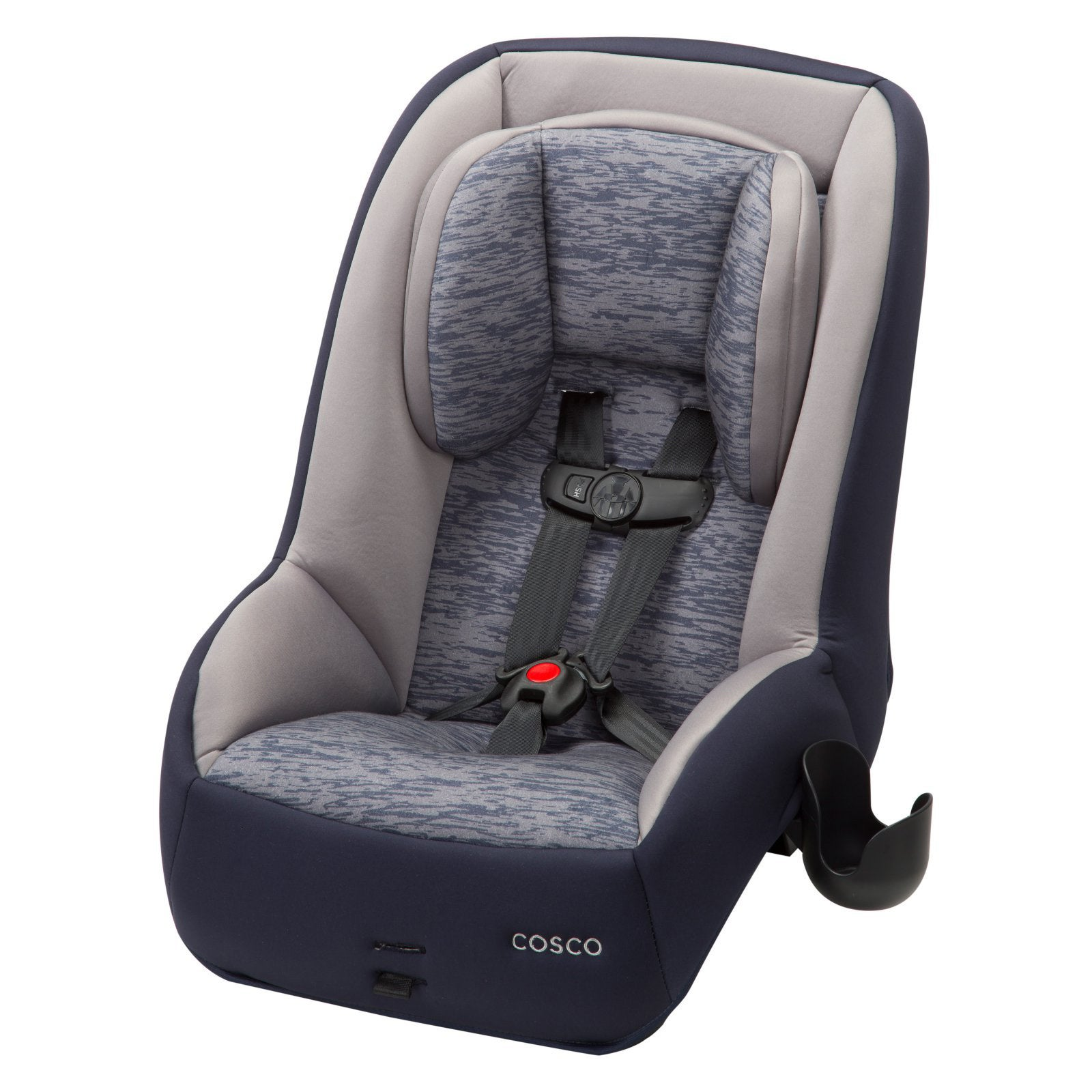 Shop Cosco Mightyfit 65 Dx Convertible Car Seat In Heather Navy
