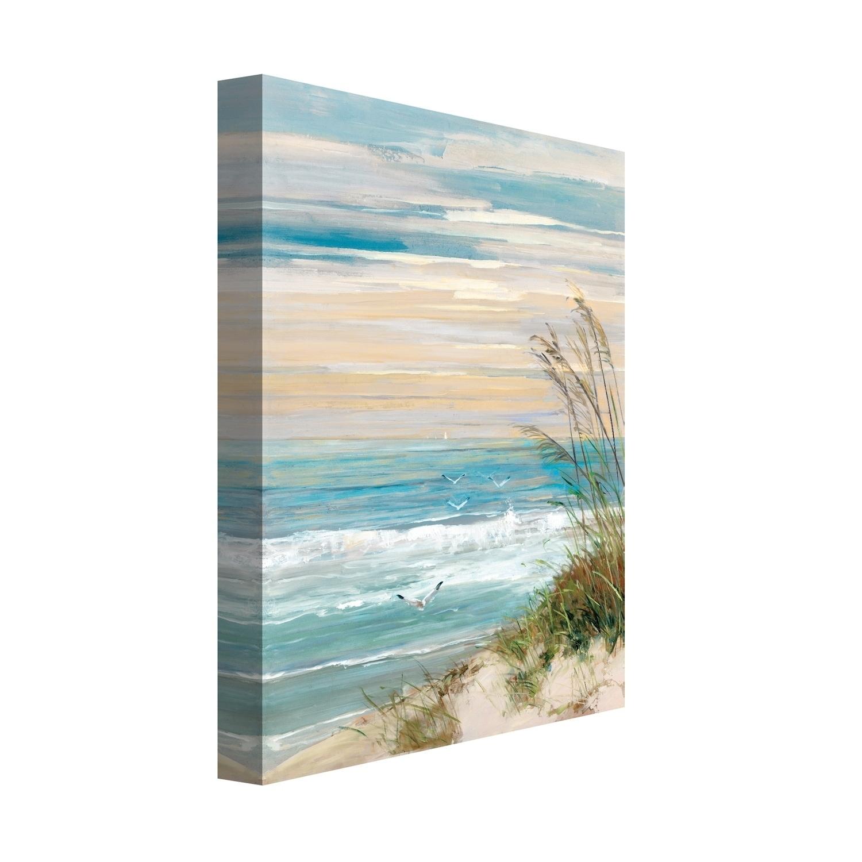 Portfolio Canvas Decor Beach At Dusk Wall Art Free Shipping Today 19666386