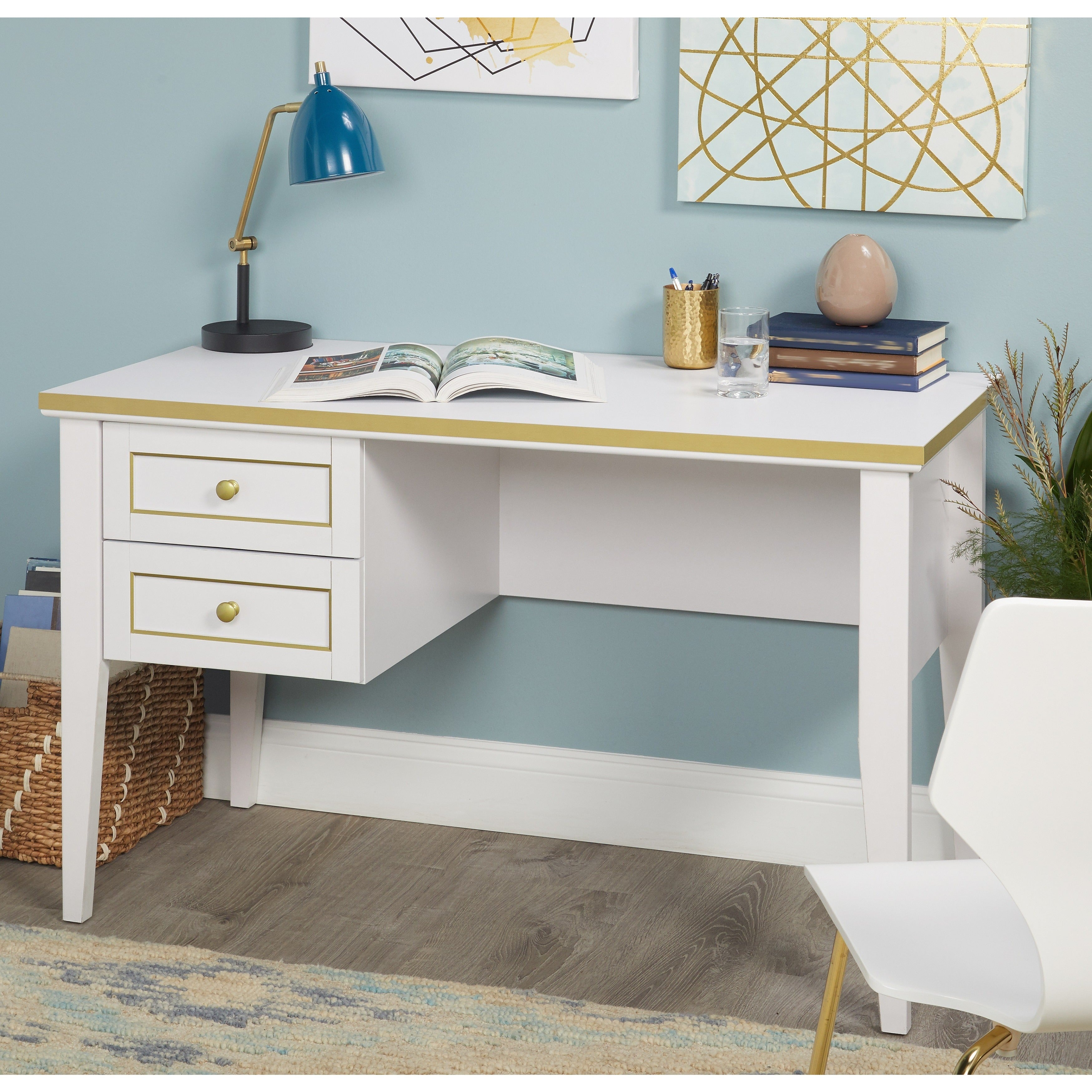 Simple Living Writing Desk Free Shipping Today 25619196