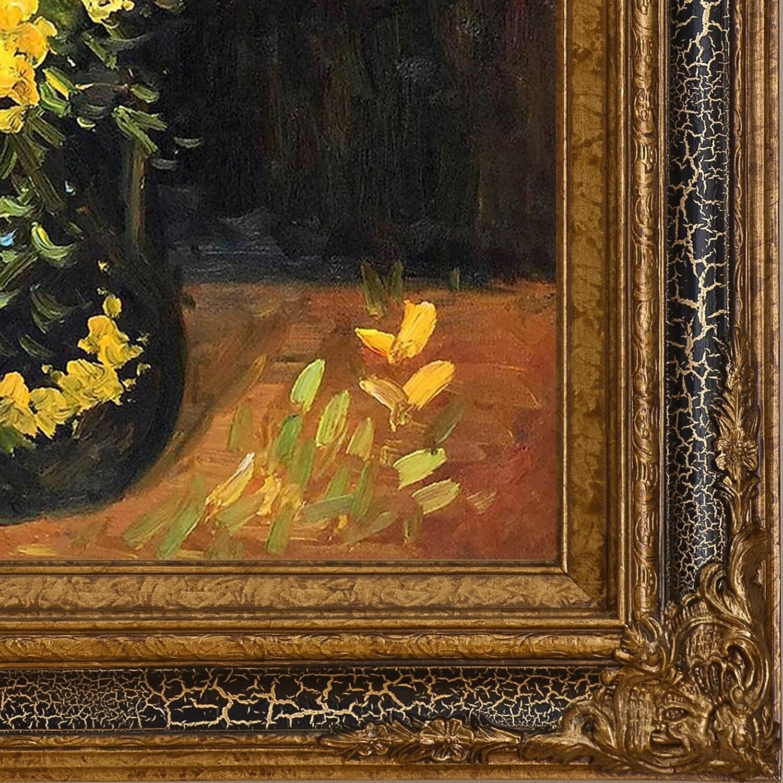 Shop Vincent Van Gogh Vase With Viscaria Poppy Flowers Hand