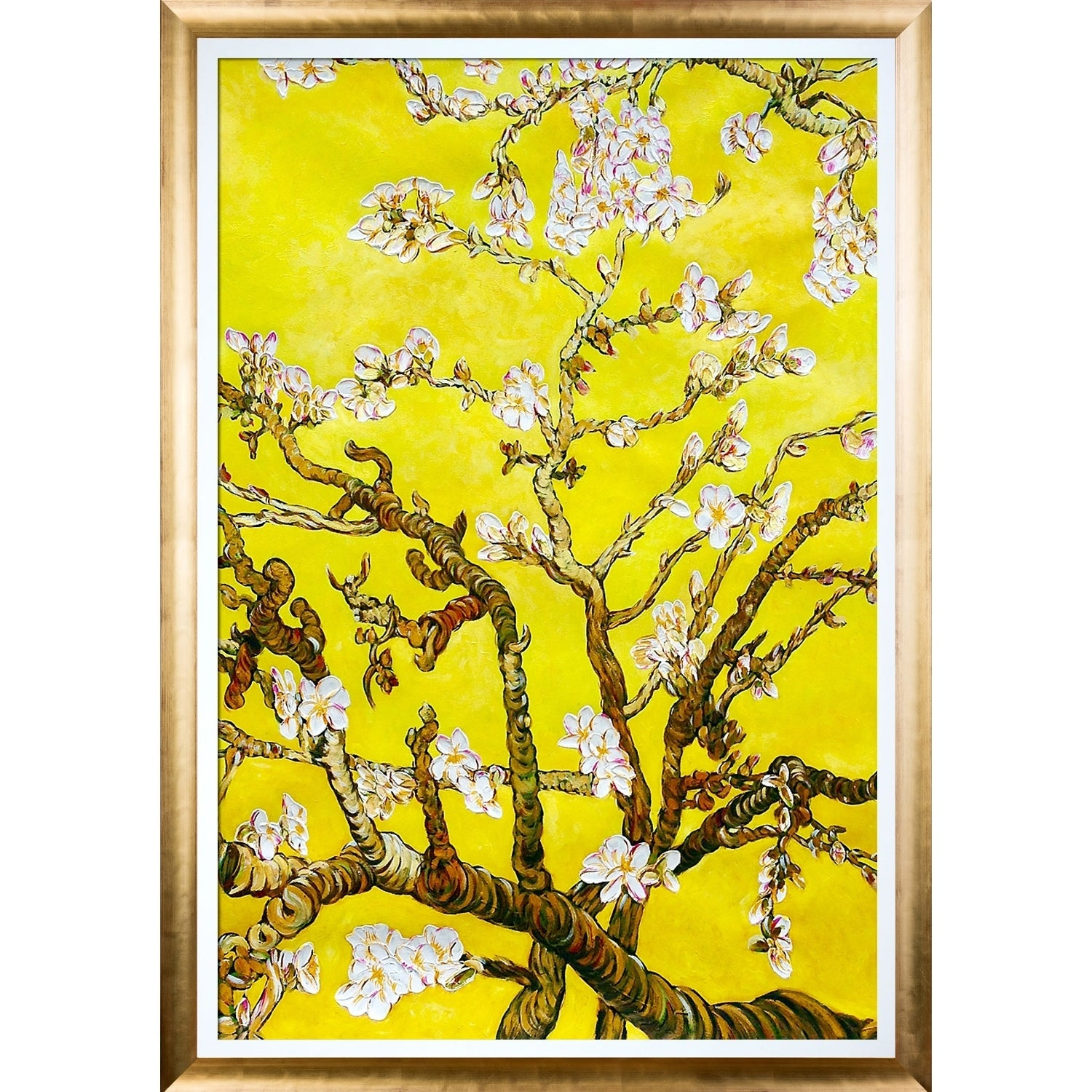 Vincent Van Gogh \'Branches of an Almond Tree in Blossom, Citrine ...