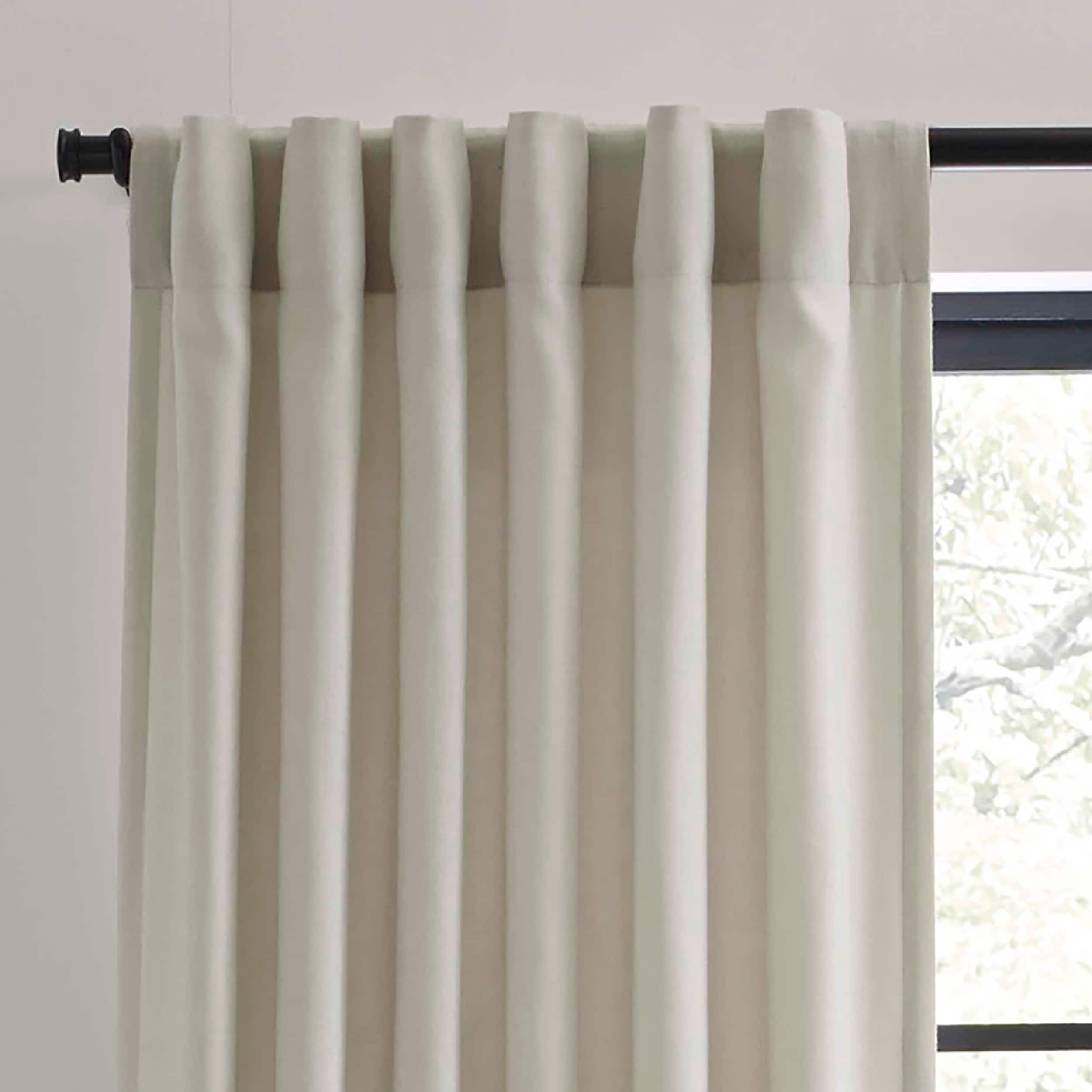 left witcoff bedding collections panel pin curtain drapes luxury ivory