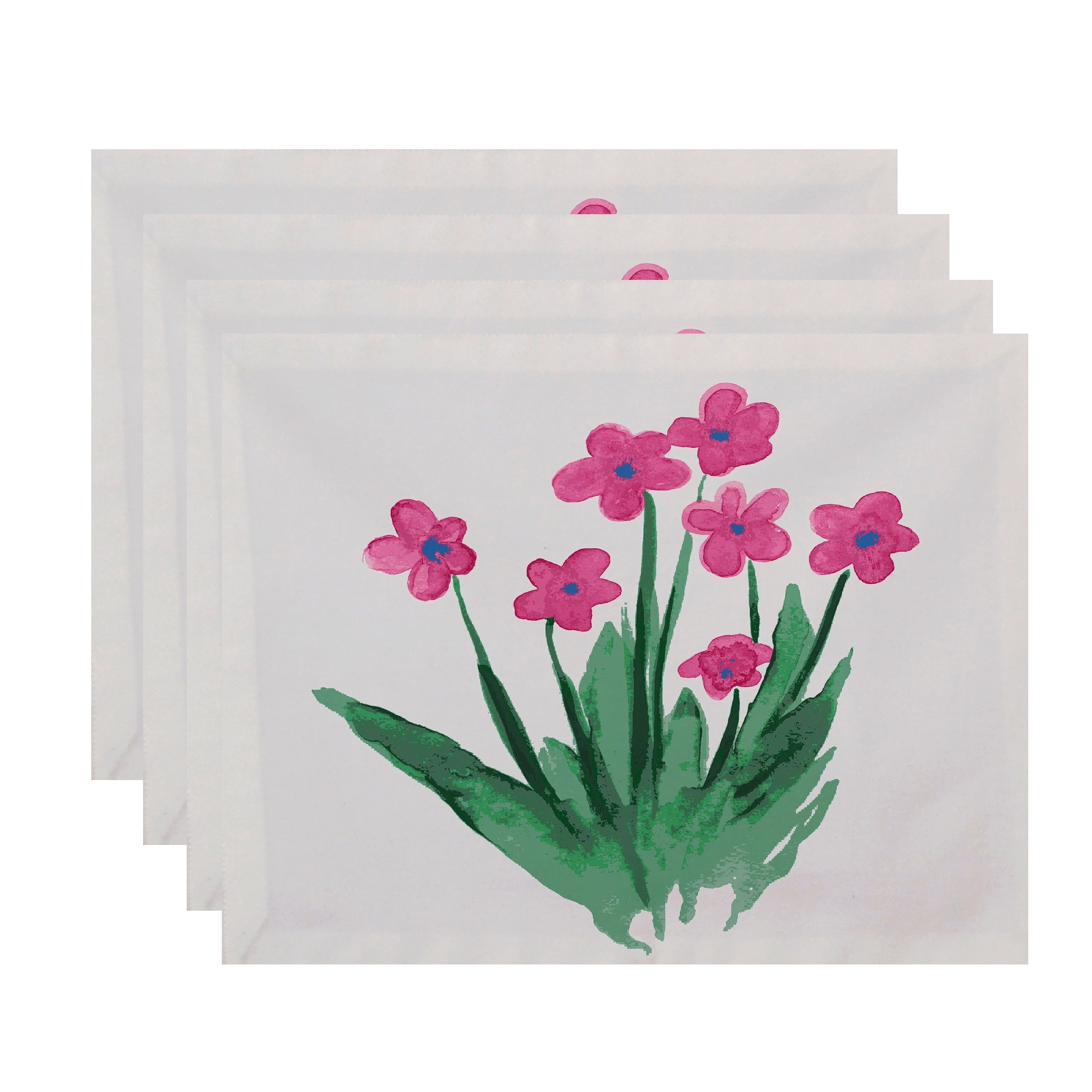 Shop 18 X 14 Inch Pretty Little Flower Placemat Set Of 4 Free