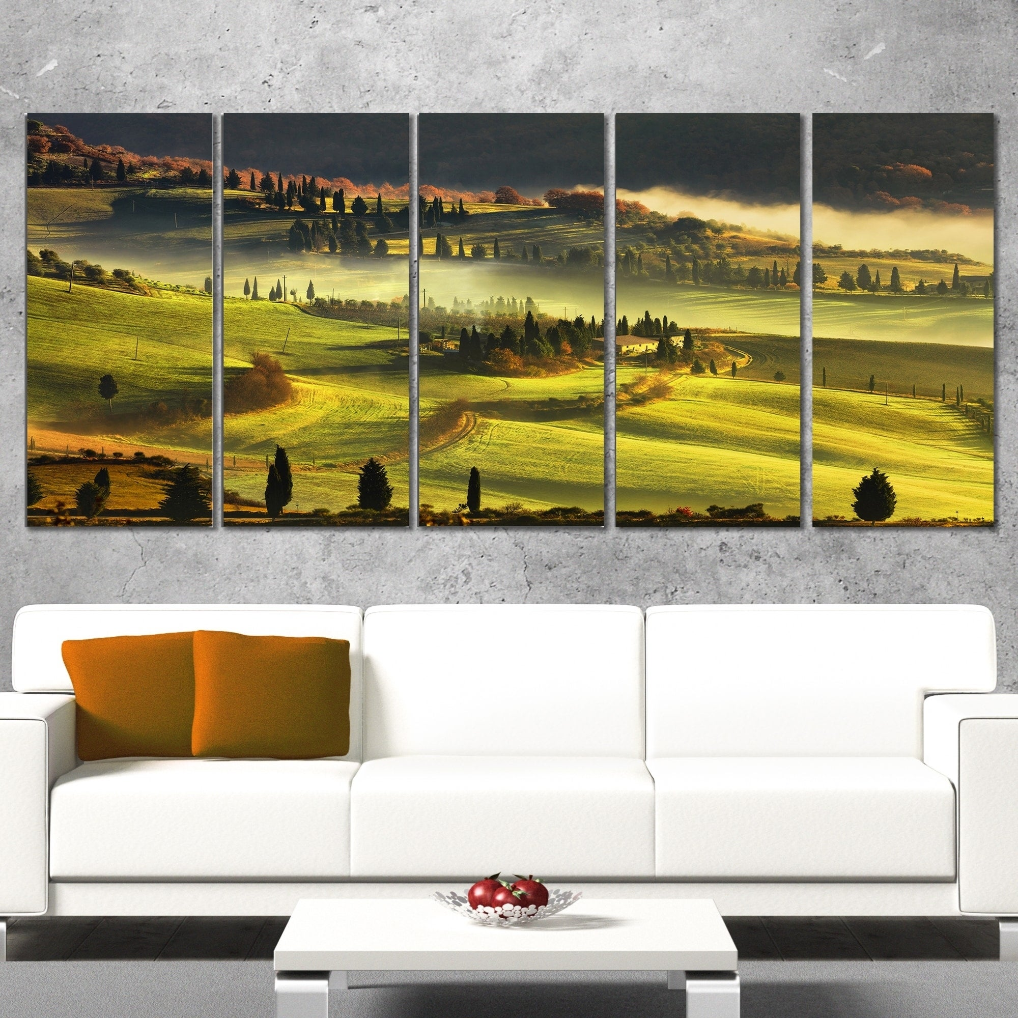 Charming Vineyard Wall Decor Pictures Inspiration - The Wall Art ...