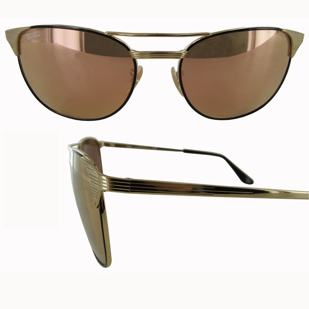 90f3a38c88 Shop Ray-Ban Signet RB3429M Womens Gold Frame Copper Flash Lens Sunglasses  - Free Shipping Today - Overstock - 19701804