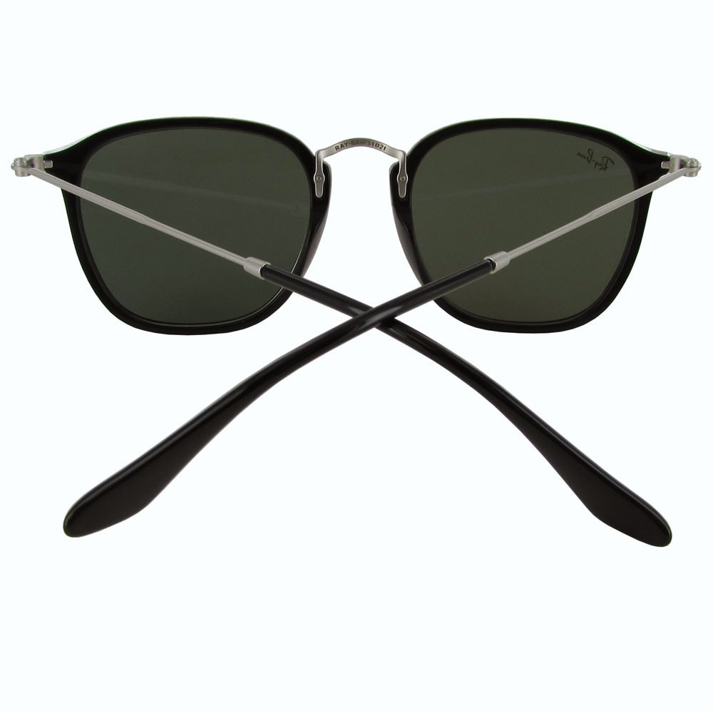 900c59ff75 Shop Ray-Ban Square Wayfarer RB2448N Mens Black Frame Green Classic G-15  Lens Sunglasses - Free Shipping Today - Overstock - 19704470