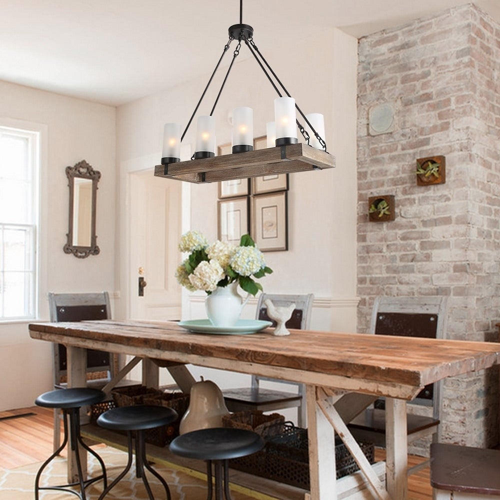 Shop lnc wood chandeliers kitchen island chandelier lighting 8 light shop lnc wood chandeliers kitchen island chandelier lighting 8 light pendant lights free shipping today overstock 19742520 aloadofball Images