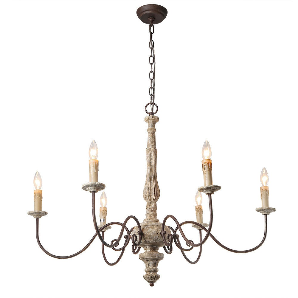 Shop lnc 6 light country chandelier lighting rustic pendant lights shop lnc 6 light country chandelier lighting rustic pendant lights chandeliers free shipping today overstock 19742563 aloadofball Gallery