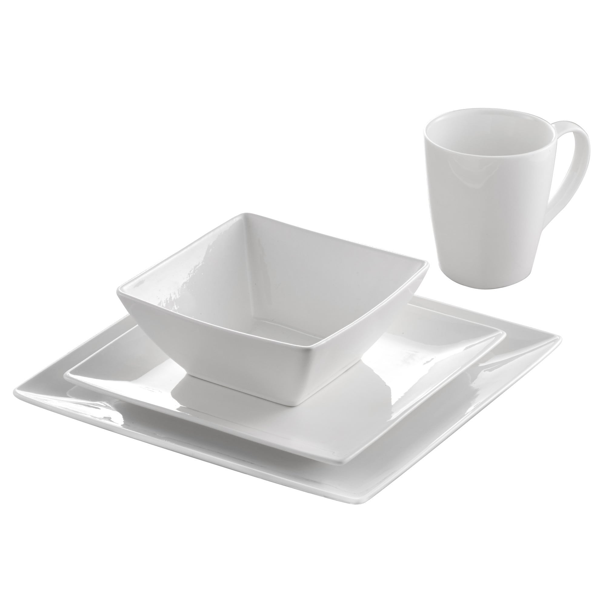 Roscher 32-Piece Pure Square Dinnerware Set - Free Shipping Today - Overstock.com - 25687392  sc 1 st  Overstock.com & Roscher 32-Piece Pure Square Dinnerware Set - Free Shipping Today ...