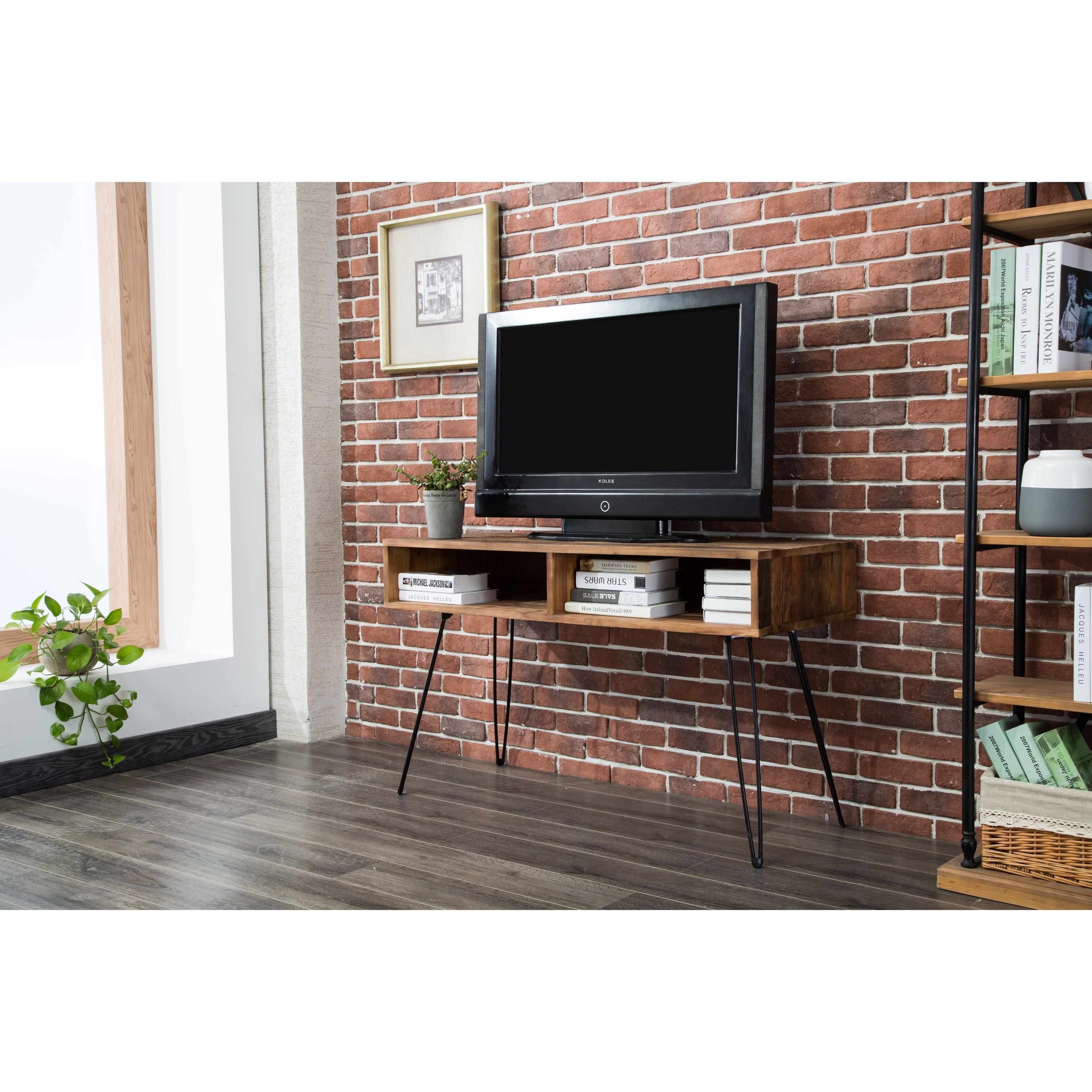 Shop Carbon Loft Lee Reclaimed Fir 48 Inch Tv Stand On Sale Free