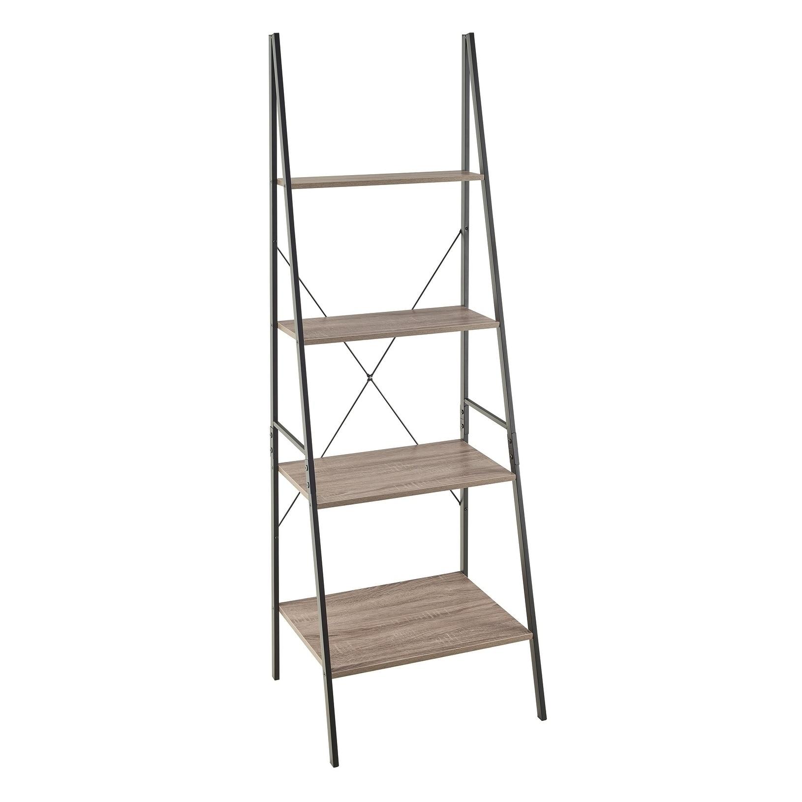 Shop Carbon Loft Morse Industrial Ladder Bookshelf