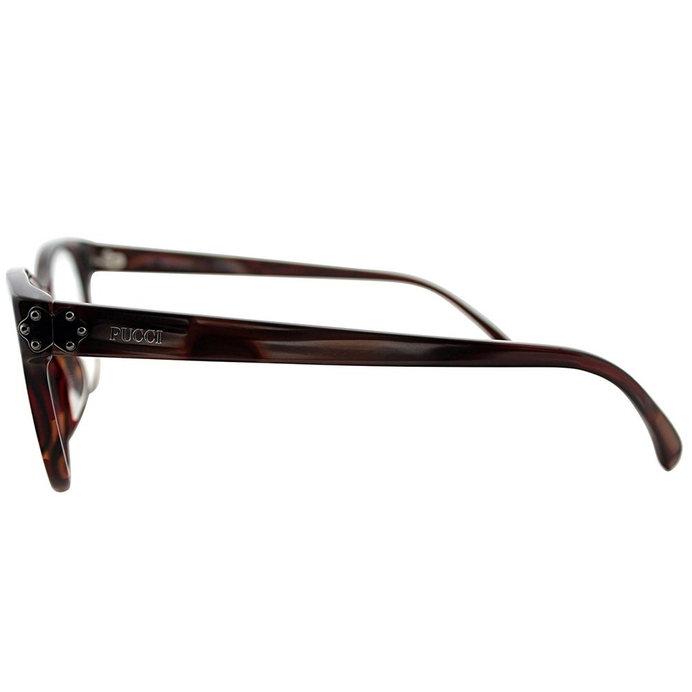 87ce88b40f Shop Emilio Pucci Rectangle EP 2677 615 Women Berry Striated Frame  Eyeglasses - Free Shipping Today - Overstock - 19755054
