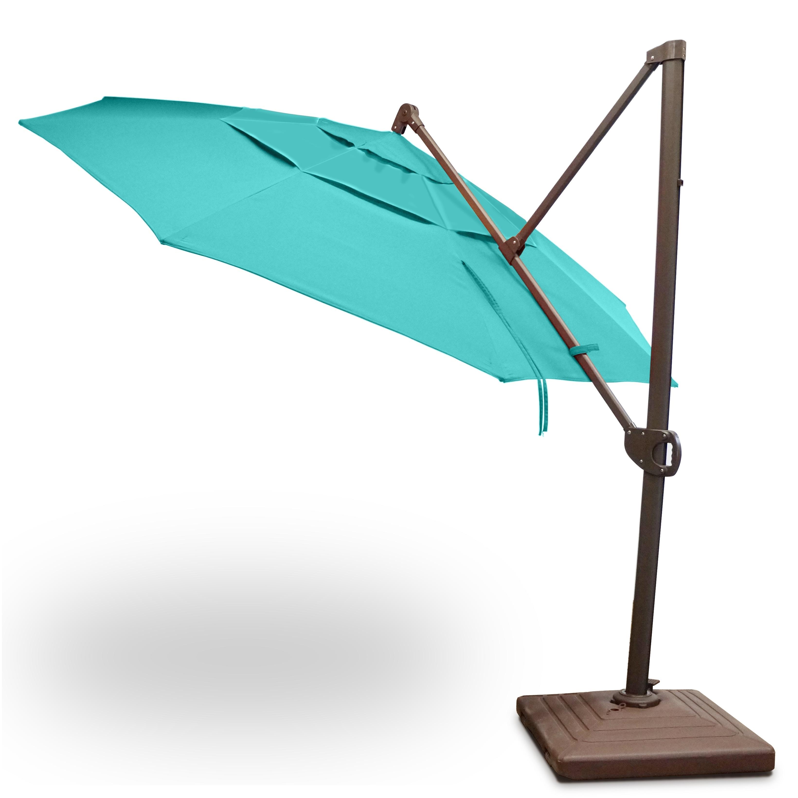 Shop Calais 11 Cantilever Parasol Umbrella With Sunbrella Fabric