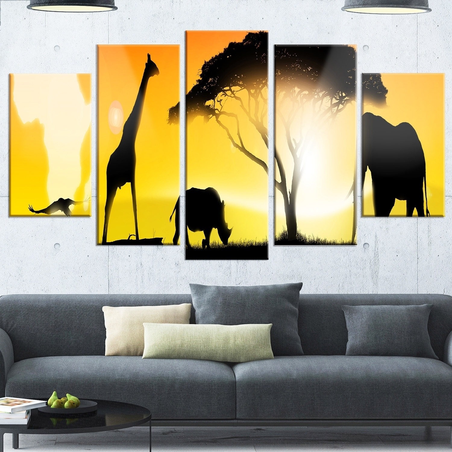 Enchanting Wildlife Metal Wall Art Picture Collection - Wall Art ...