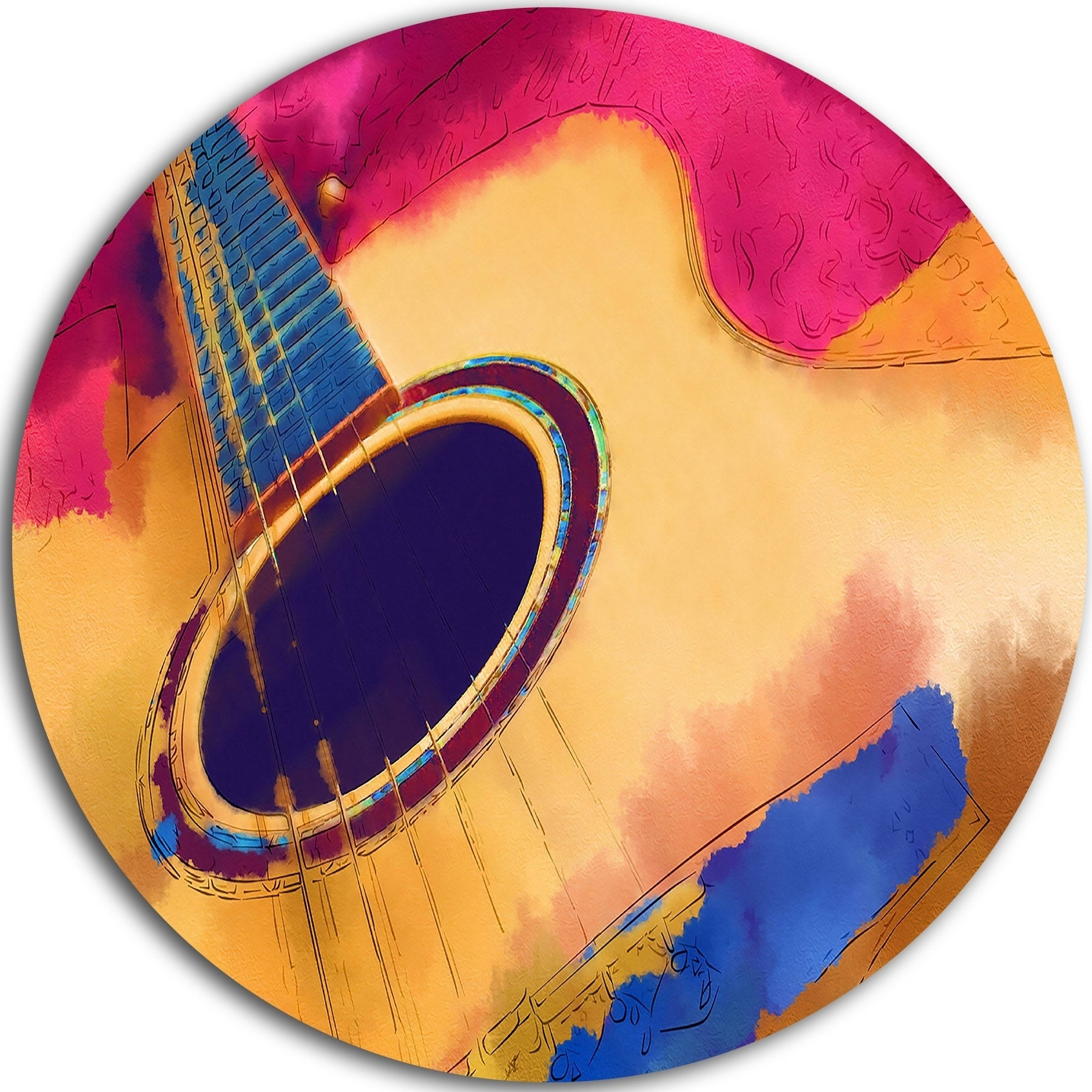 Delighted Metal Guitar Wall Art Ideas - The Wall Art Decorations ...