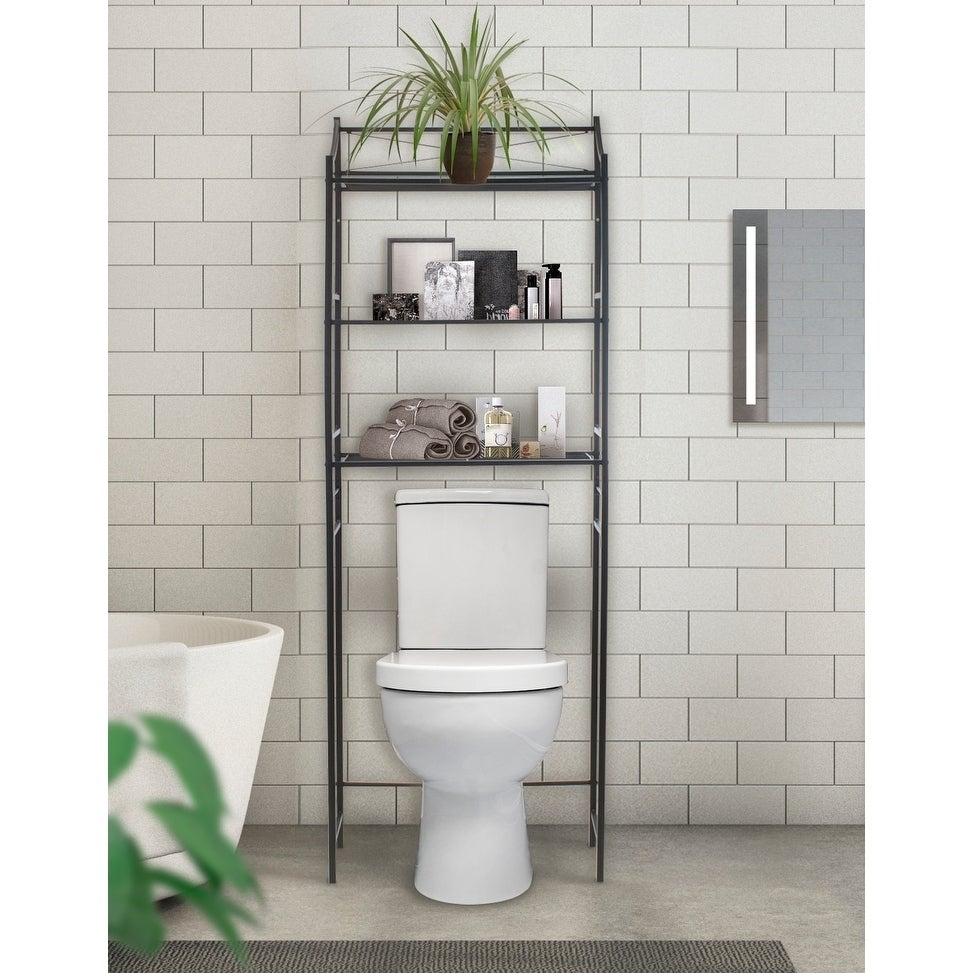 Shop Sorbus Bathroom Storage Shelf - Freestanding Shelves for Bath ...