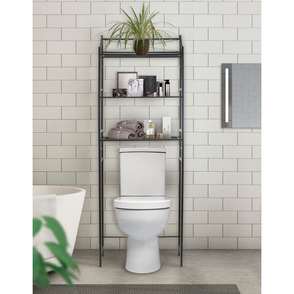 Shop Sorbus Bathroom Storage Shelf   Freestanding Shelves For Bath  Essentials, Planters, Books, And Much More   Free Shipping On Orders Over  $45 ...