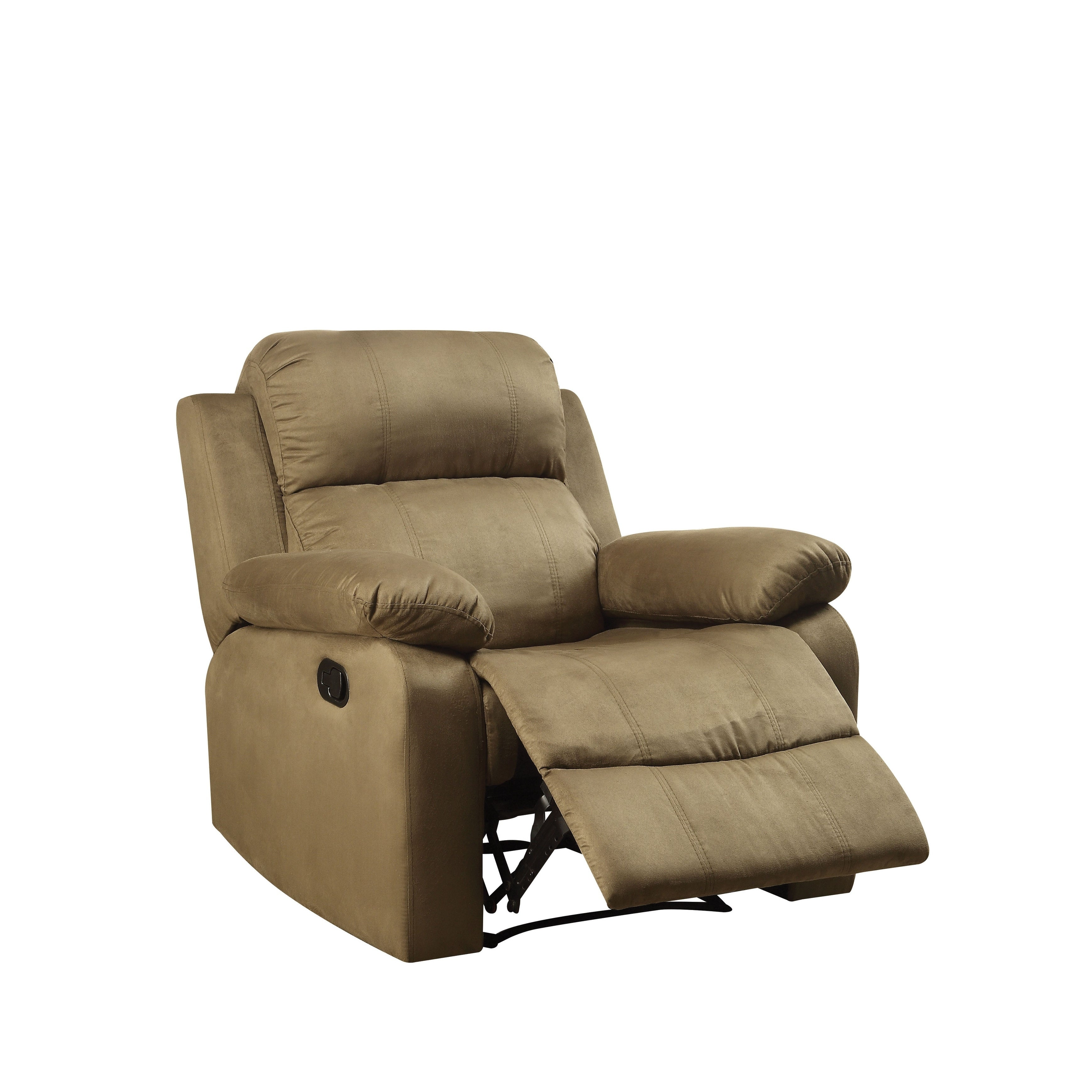 Shop Acme Furniture Parklon Olive Microfiber Recliner - Free ...