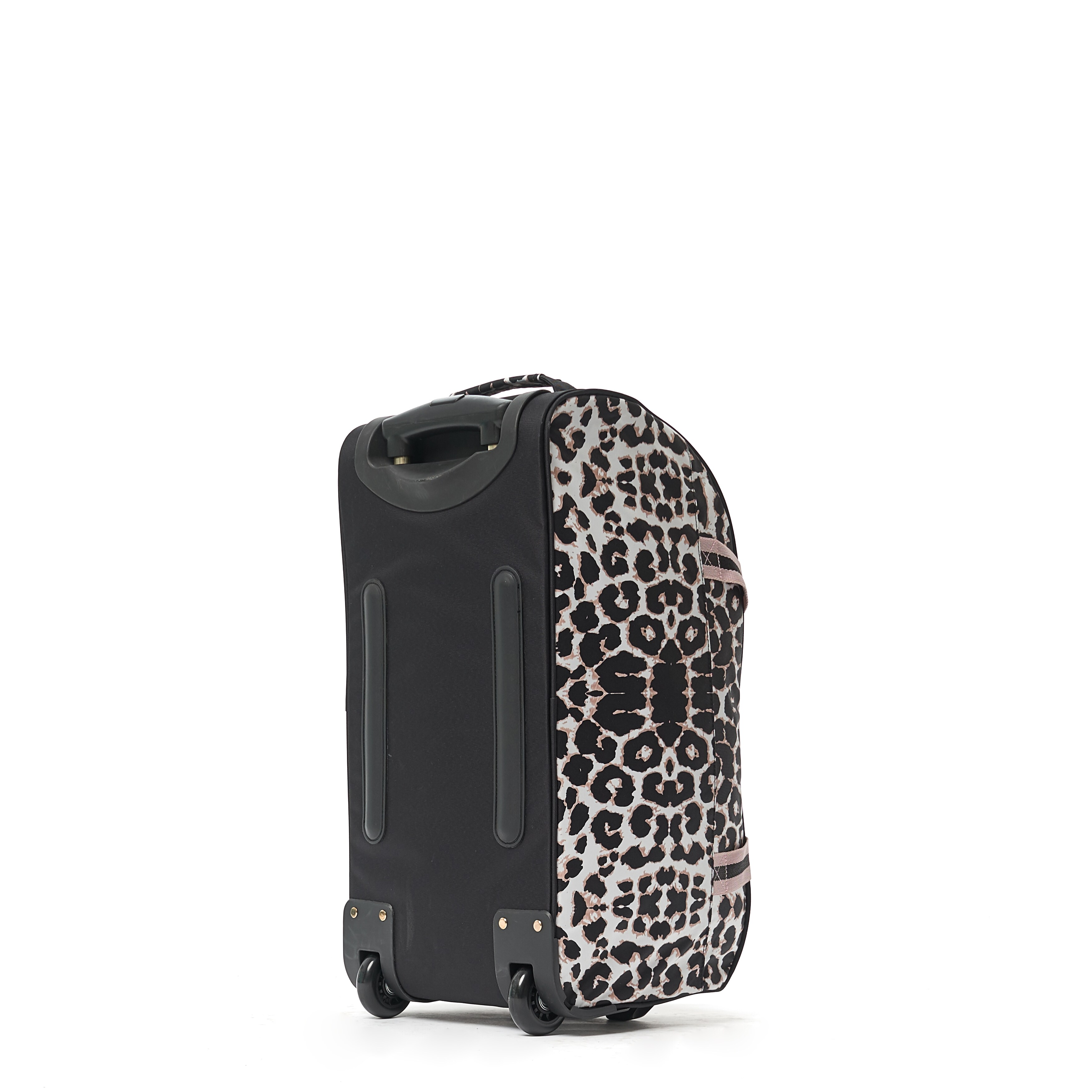 7110cac67c73 Shop Macbeth Collection Ciao Bella 21-Inch Rolling Leopard Print Duffel Bag  - Free Shipping Today - Overstock - 19790289