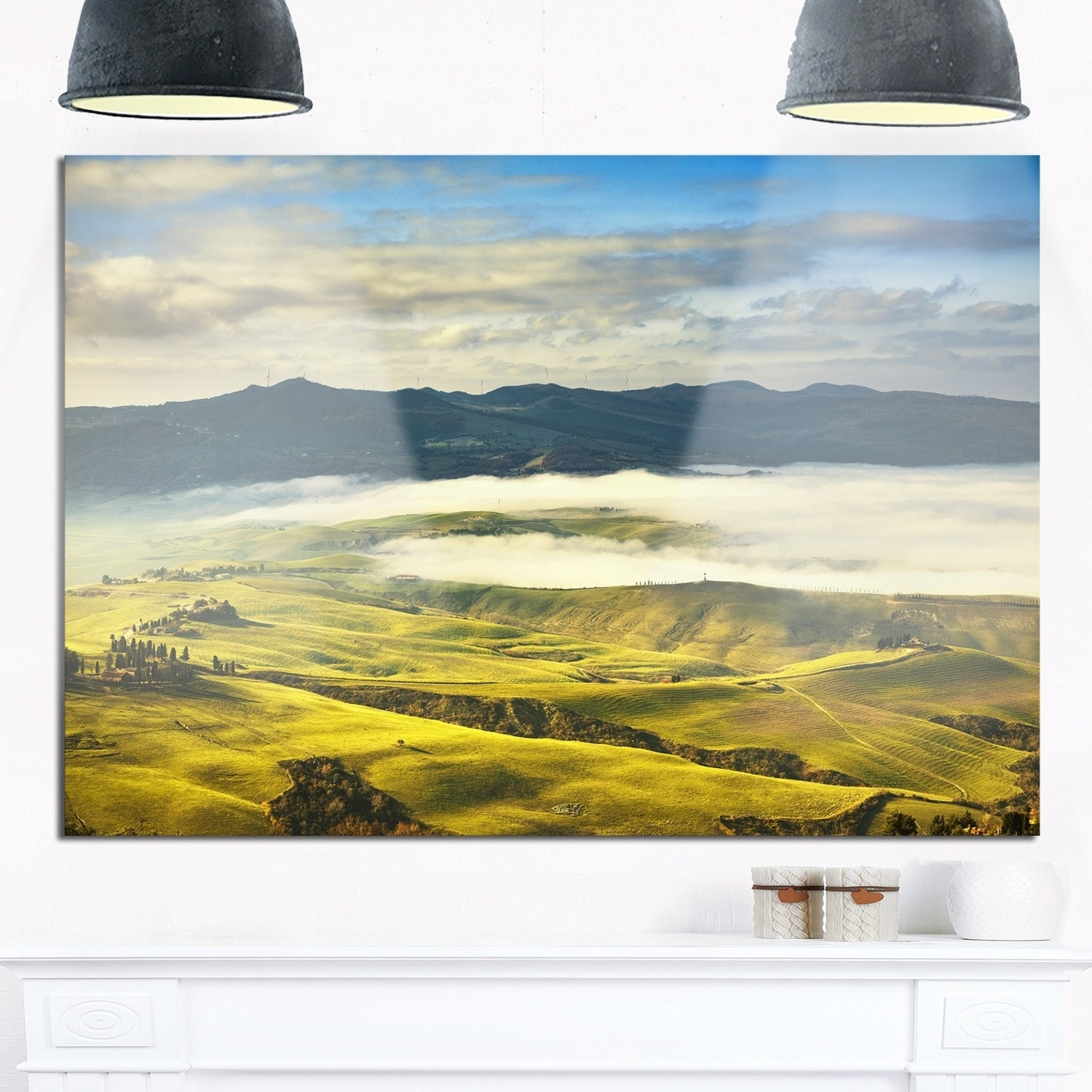 Magnificent Large Tuscan Wall Art Gallery - The Wall Art Decorations ...