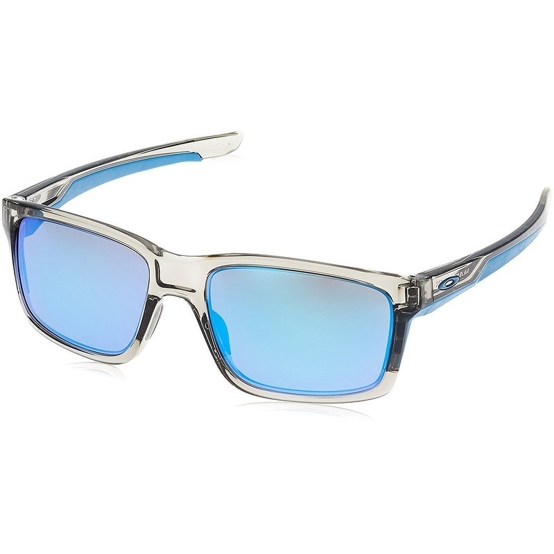 7fe0e395df2 Shop Oakley Mainlink Sunglasses Grey Ink  Sapphire Iridium 57mm ...