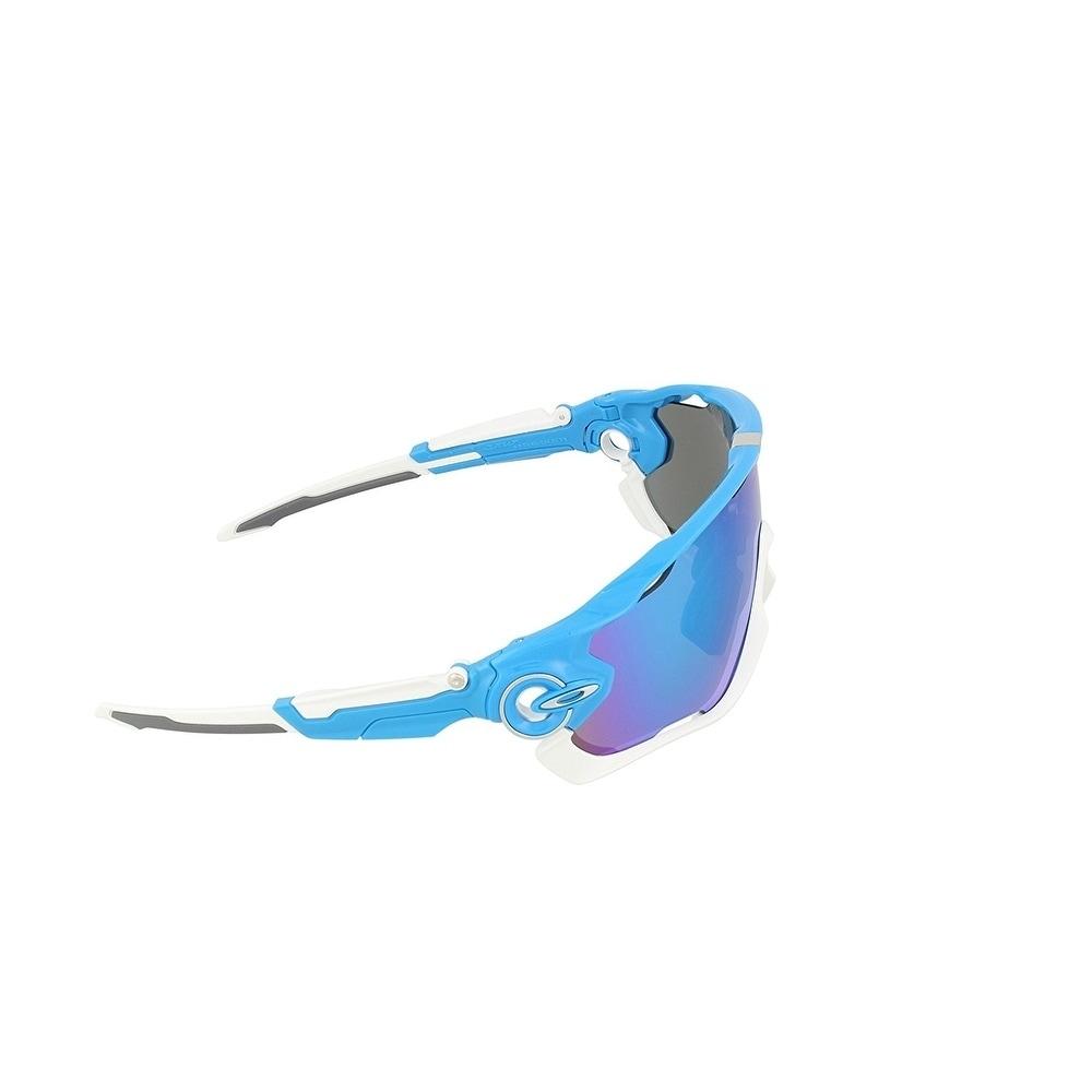 a7cc987af10 Shop Oakley Jawbreaker Sunglasses Sky Blue  Sapphire Iridium 53mm - Blue -  Free Shipping Today - Overstock - 19821260