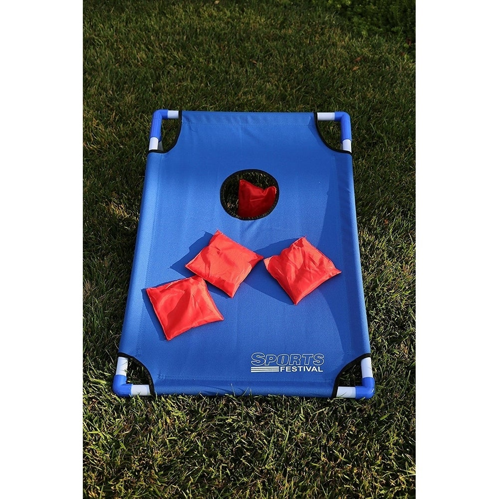 Shop Sports Festival ® Portable Cornhole Game Set   Free Shipping On Orders  Over $45   Overstock.com   19822055