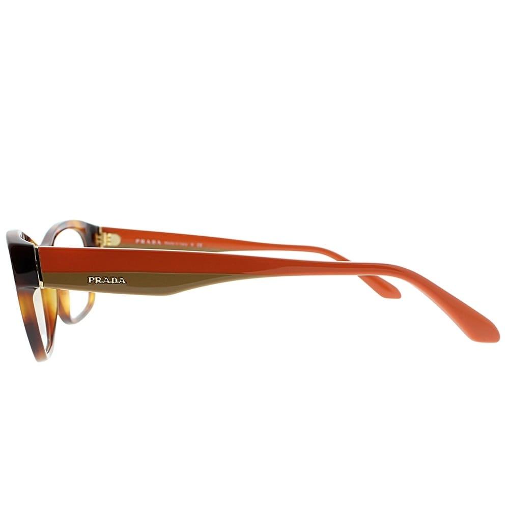 10bd25c903e08 Shop Prada Rectangle PR 24RV TKR1O1 Unisex Havana Frame Eyeglasses - Free  Shipping Today - Overstock - 19834697