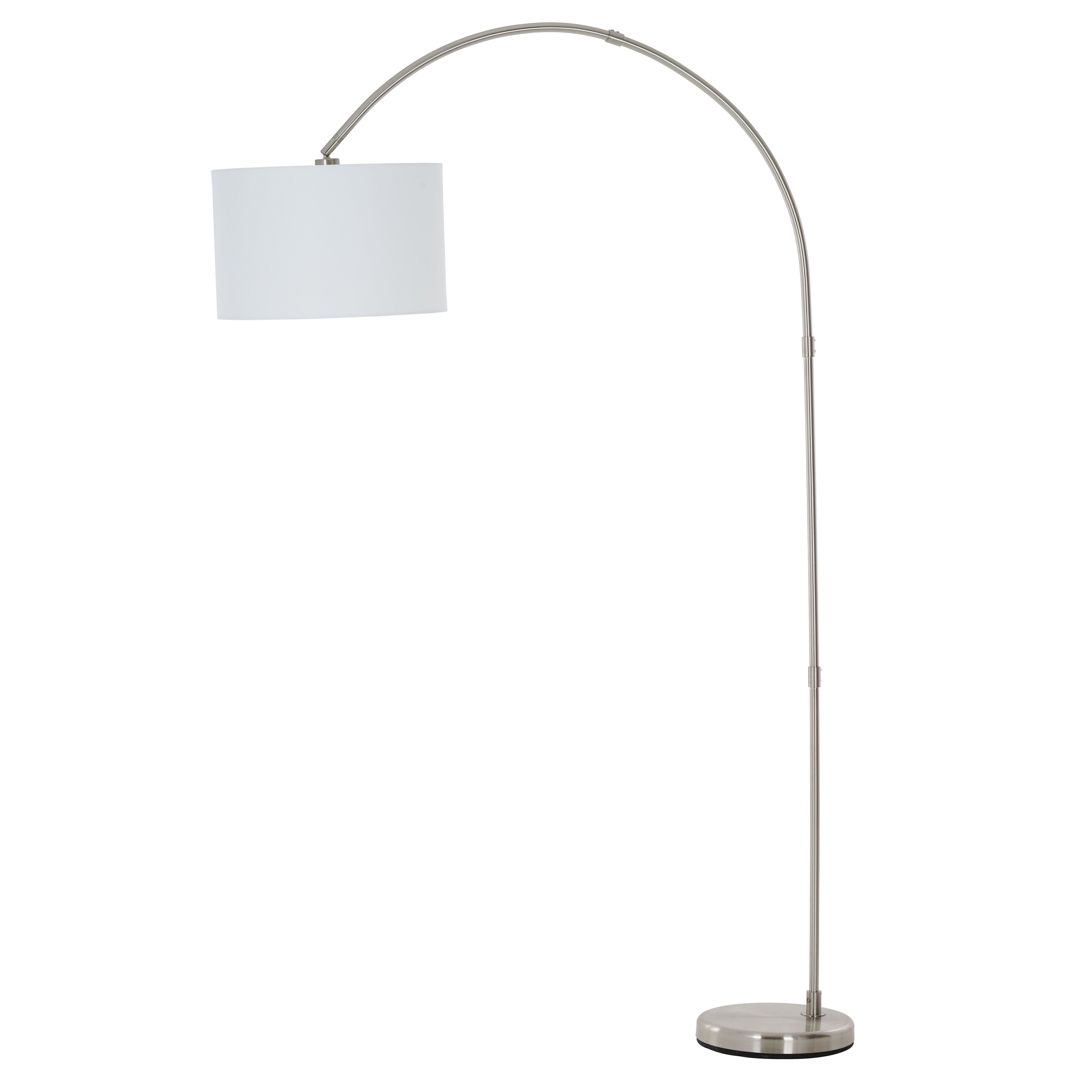 Catalina Lighting Susan Arc Floor Lamp With Shade   Free Shipping Today    Overstock.com   25767904