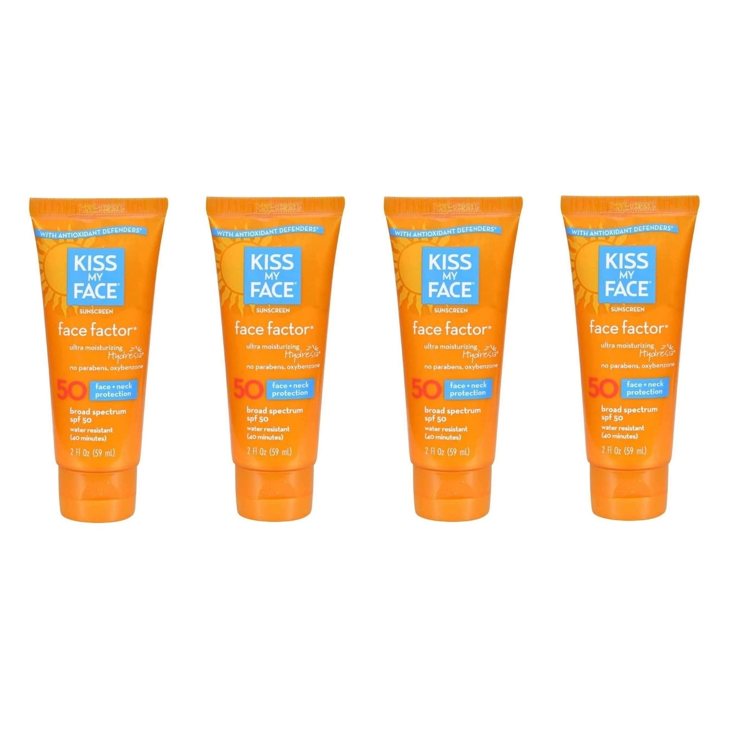 Shop Kiss My Face Spf 50 Factor 2 Ounce Sunscreen Lotion Spf50 Ships To Canada 19835190