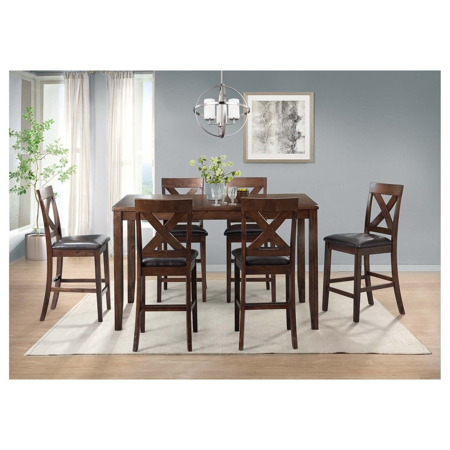 Picket House Furnishings Alexa 7PC Dining Set - Free Shipping Today ...