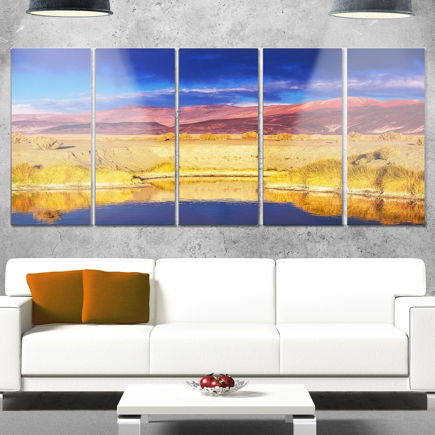 Designart \'Beautiful Northern Argentina View\' Oversized African ...