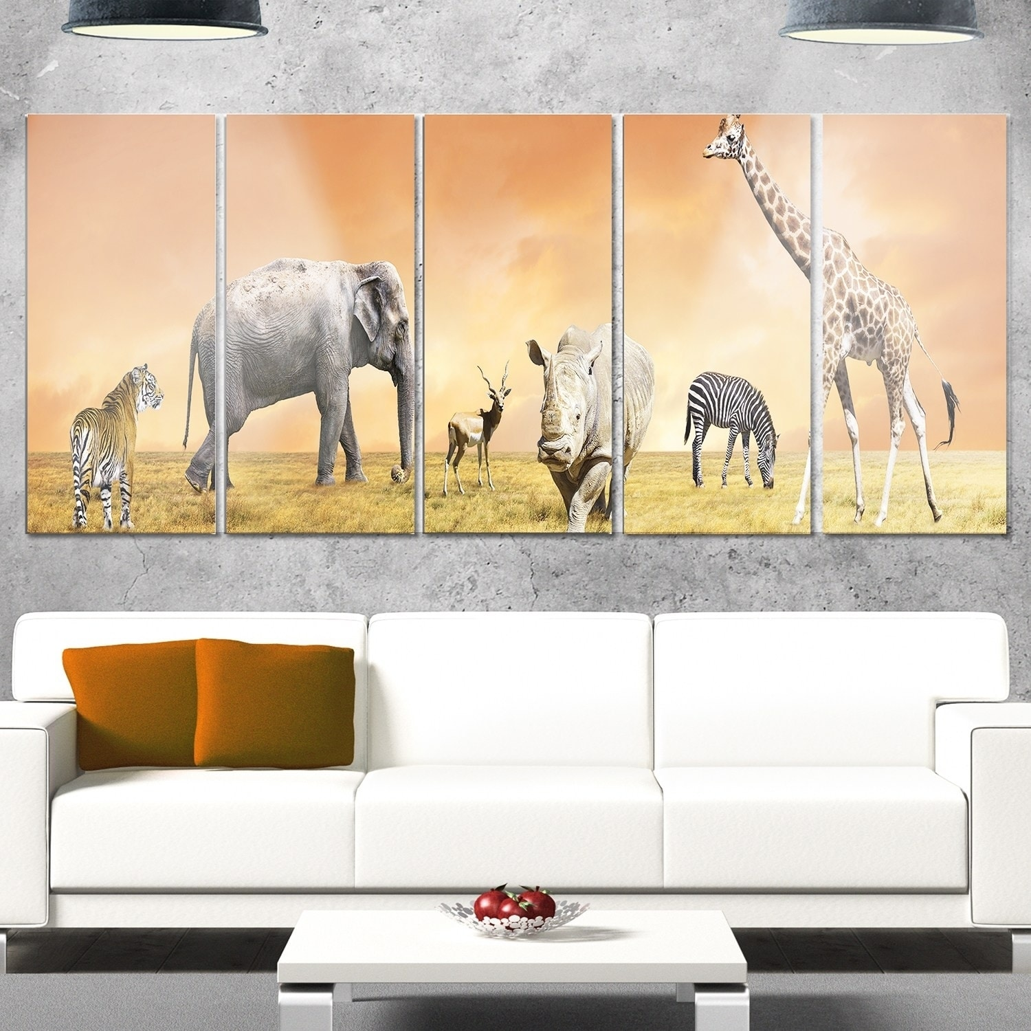 Comfortable Metal Wildlife Wall Art Images - Wall Art Ideas ...