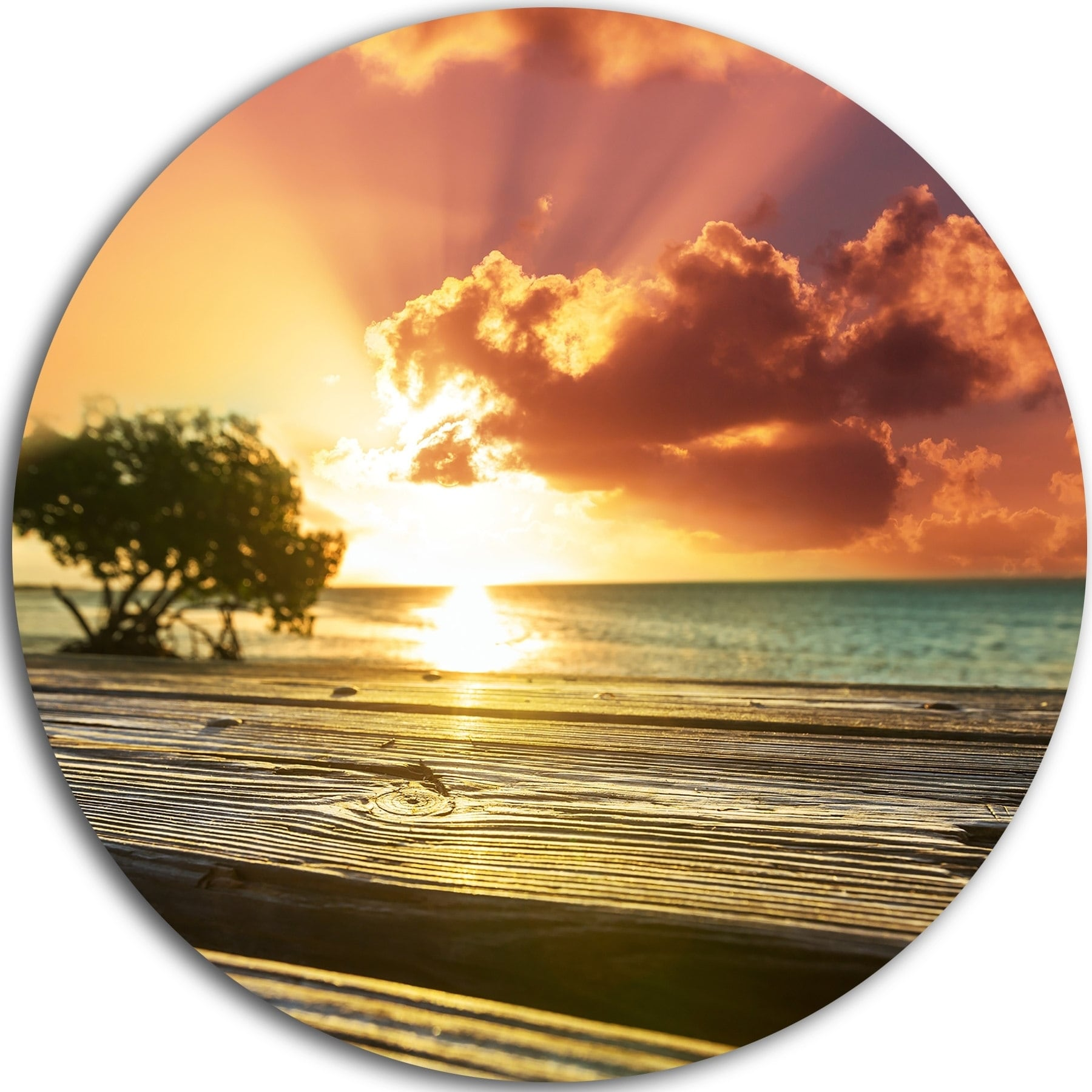 Comfortable Beach Decor Metal Wall Art Images - The Wall Art ...