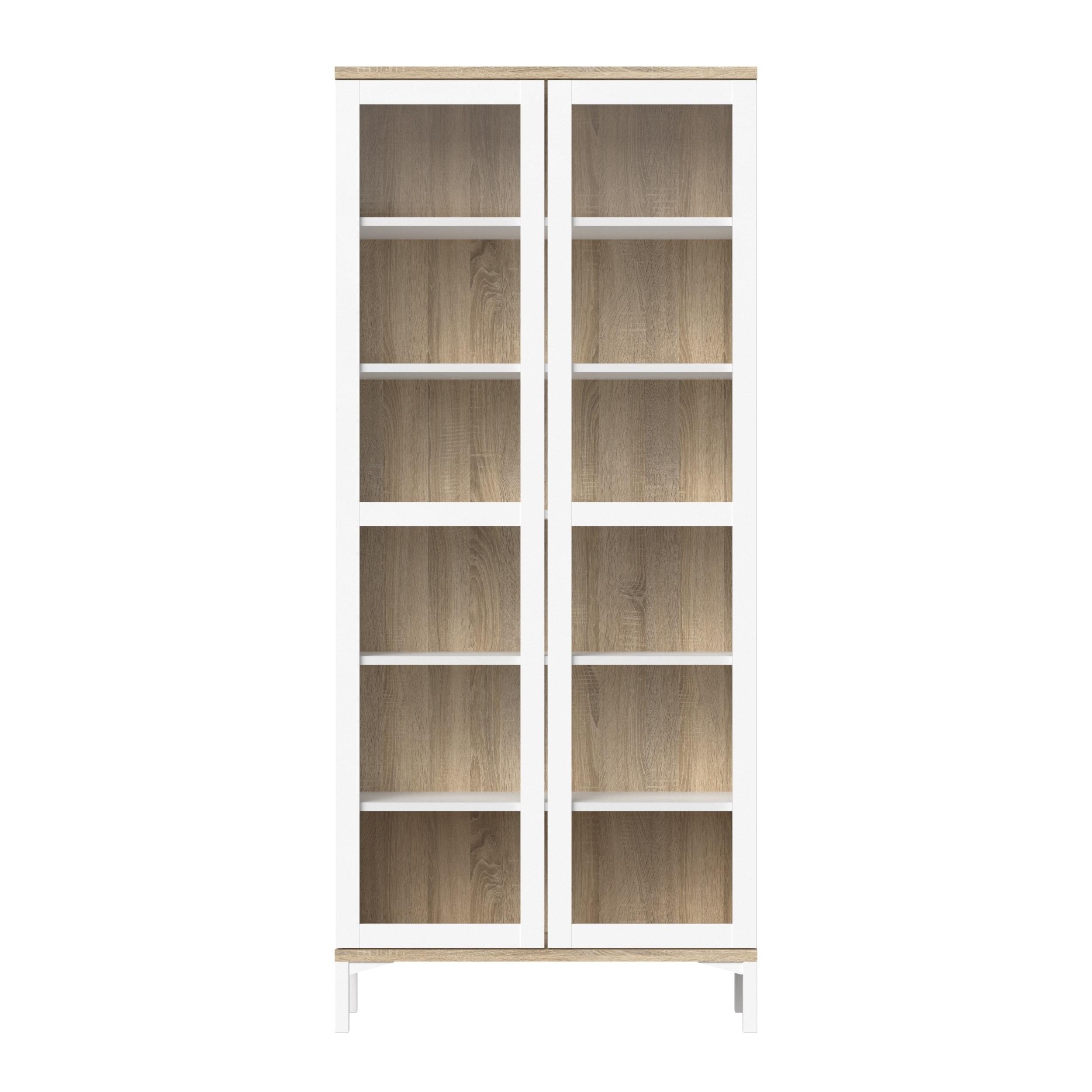 deco china breakfronts oak furniture art american modernism modernage cabinet case items