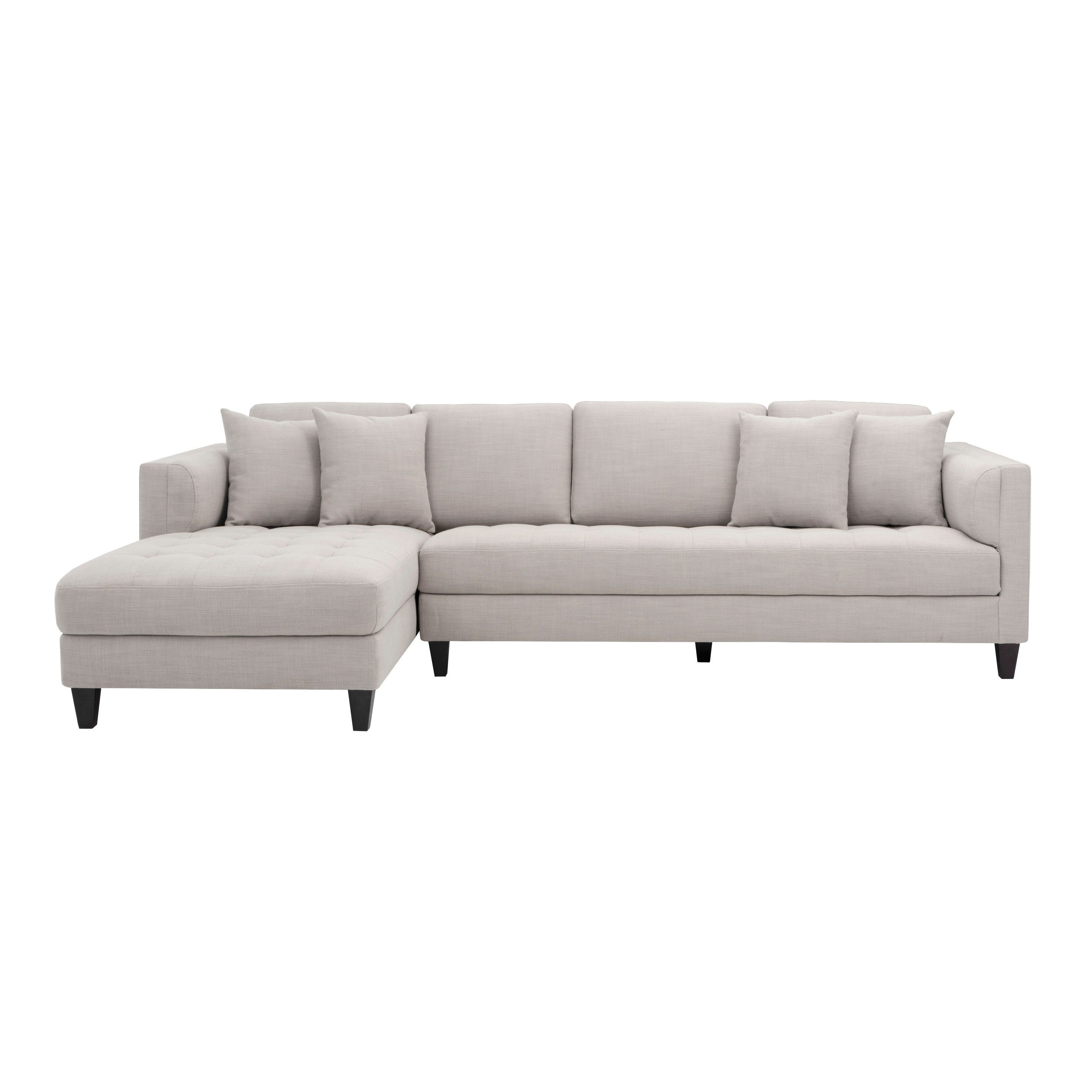 Genial Shop 5West Arthur Fabric Tufted Sofa Chaise   Free Shipping Today    Overstock.com   19843290