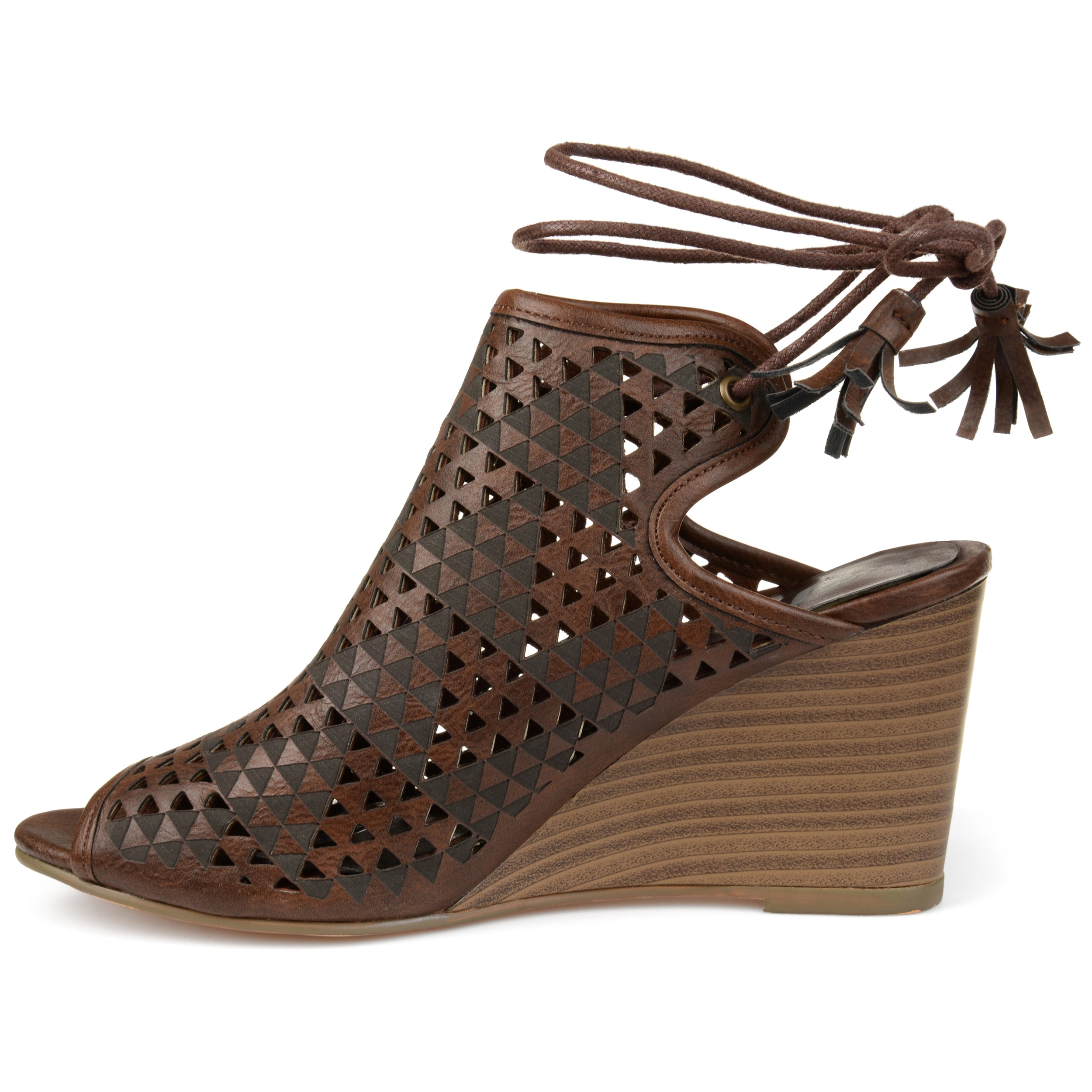 Journee Collection Tandra ... Women's Wedge Sandals Jd5sd4